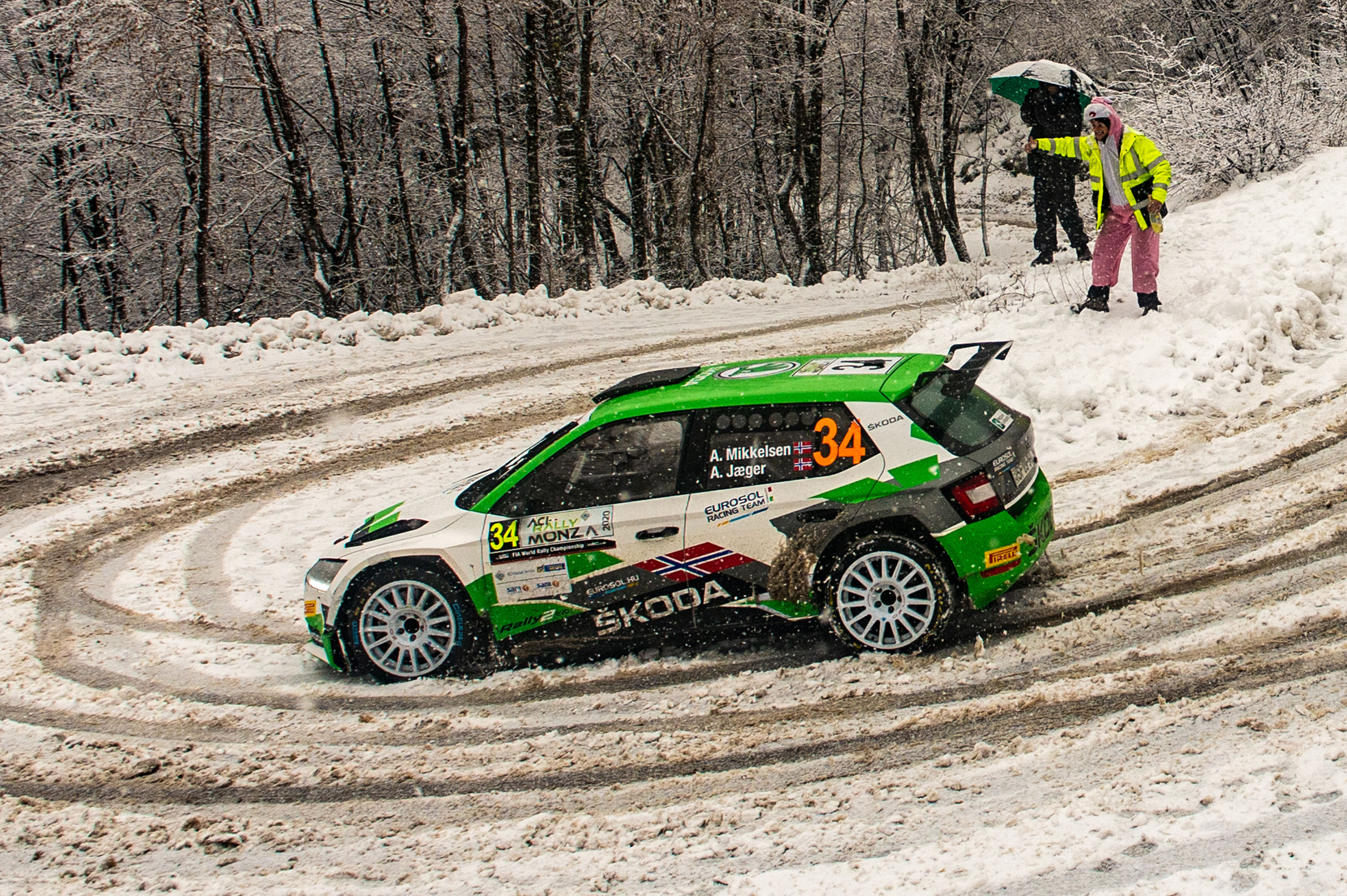 Rallye Monte-Carlo: SKODA FABIA Rally2 evo driver Andreas Mikkelsen among favourites in WRC2 - Image 3