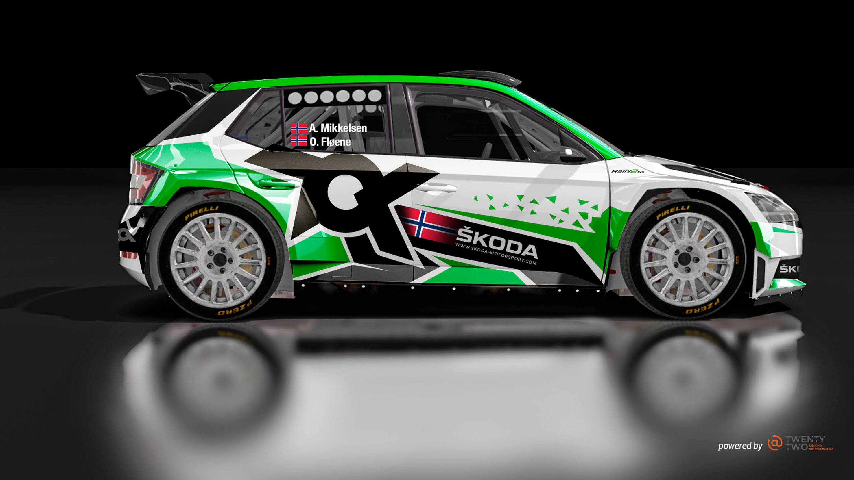 Rallye Monte-Carlo: SKODA FABIA Rally2 evo driver Andreas Mikkelsen among favourites in WRC2 - Image 1