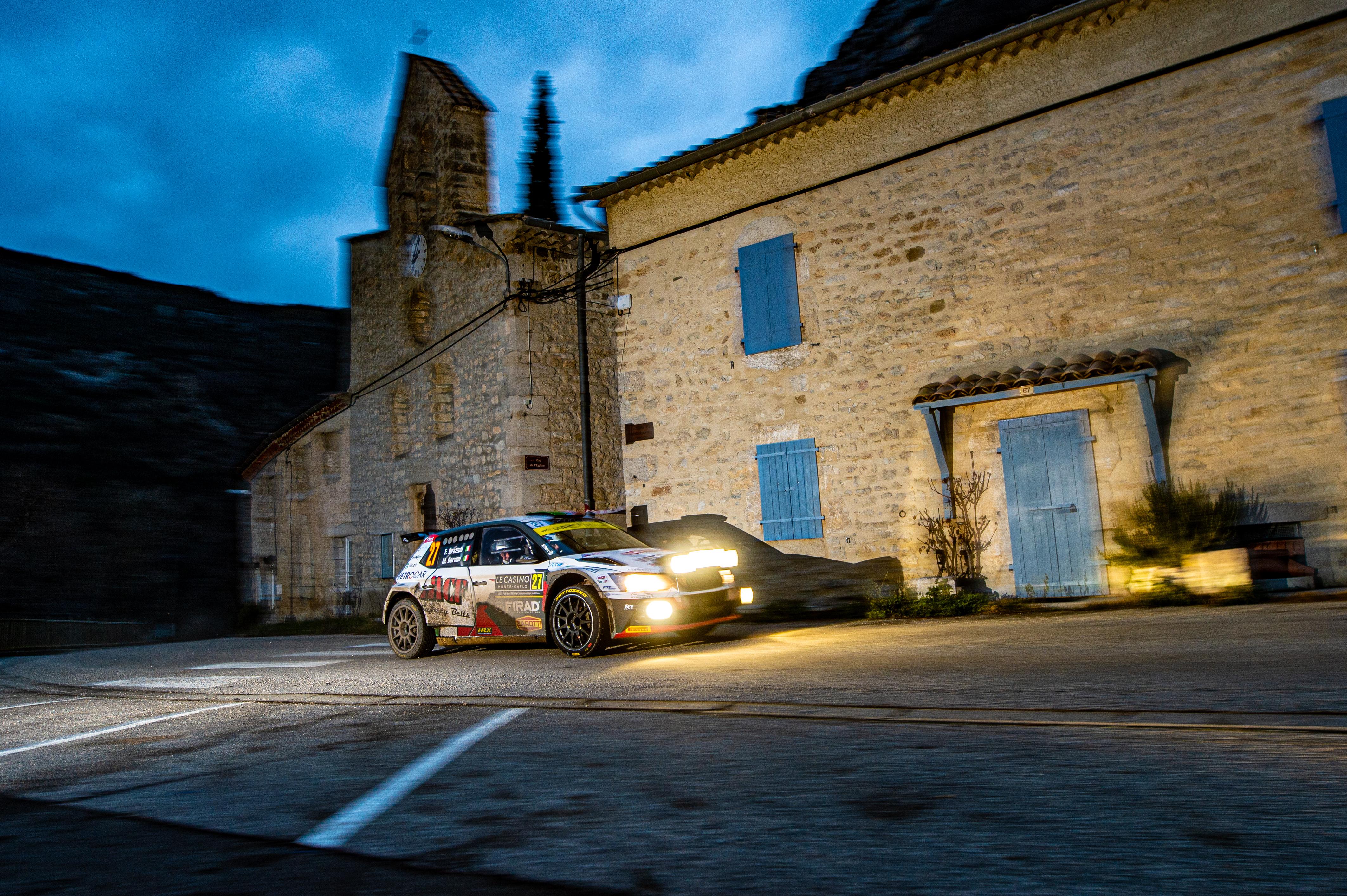 Rallye Monte-Carlo: SKODA FABIA Rally2 evo driver Mikkelsen starts as WRC2 leader into last leg - Image 4