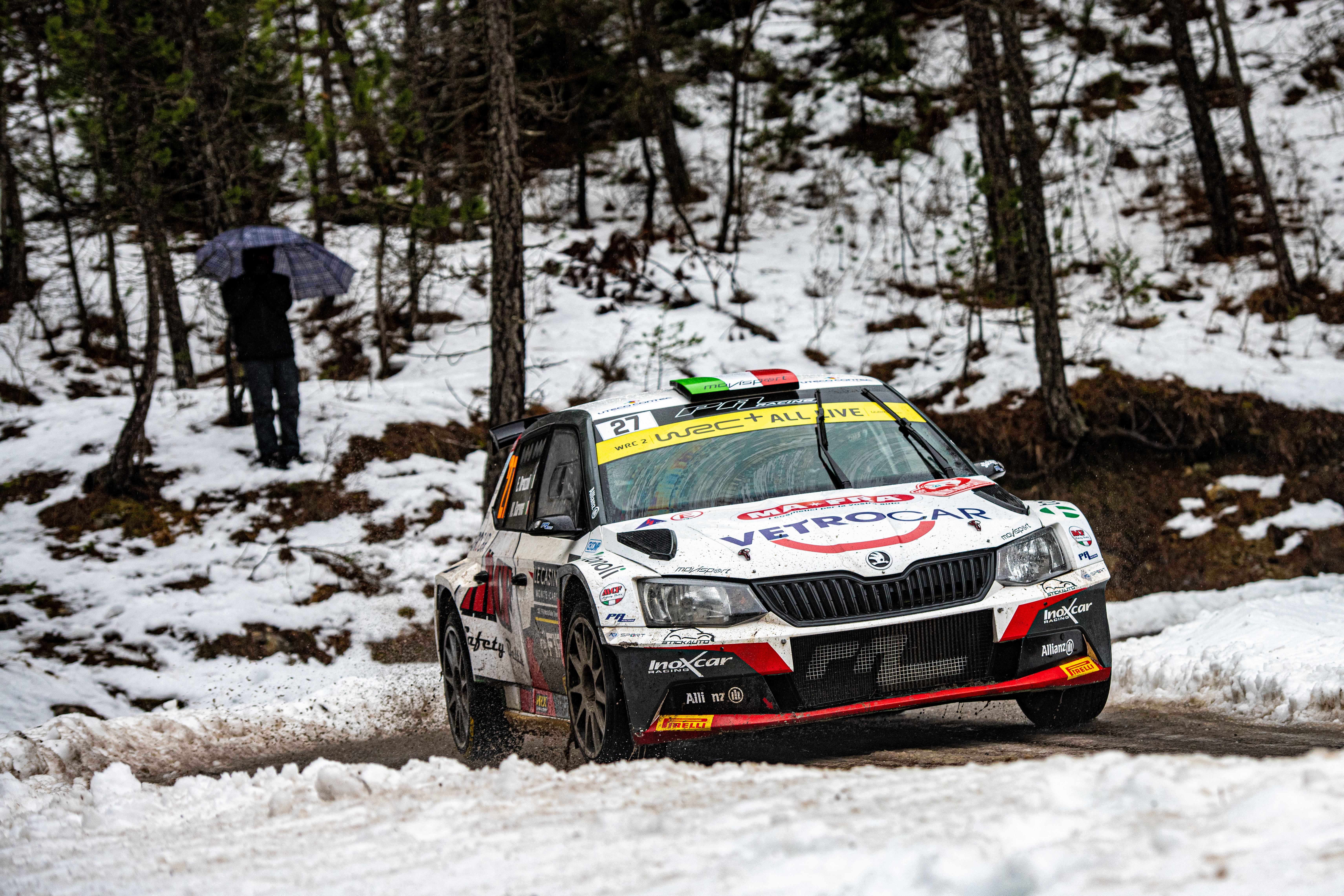 Rallye Monte-Carlo: SKODA FABIA Rally2 evo driver Mikkelsen starts as WRC2 leader into last leg - Image 7
