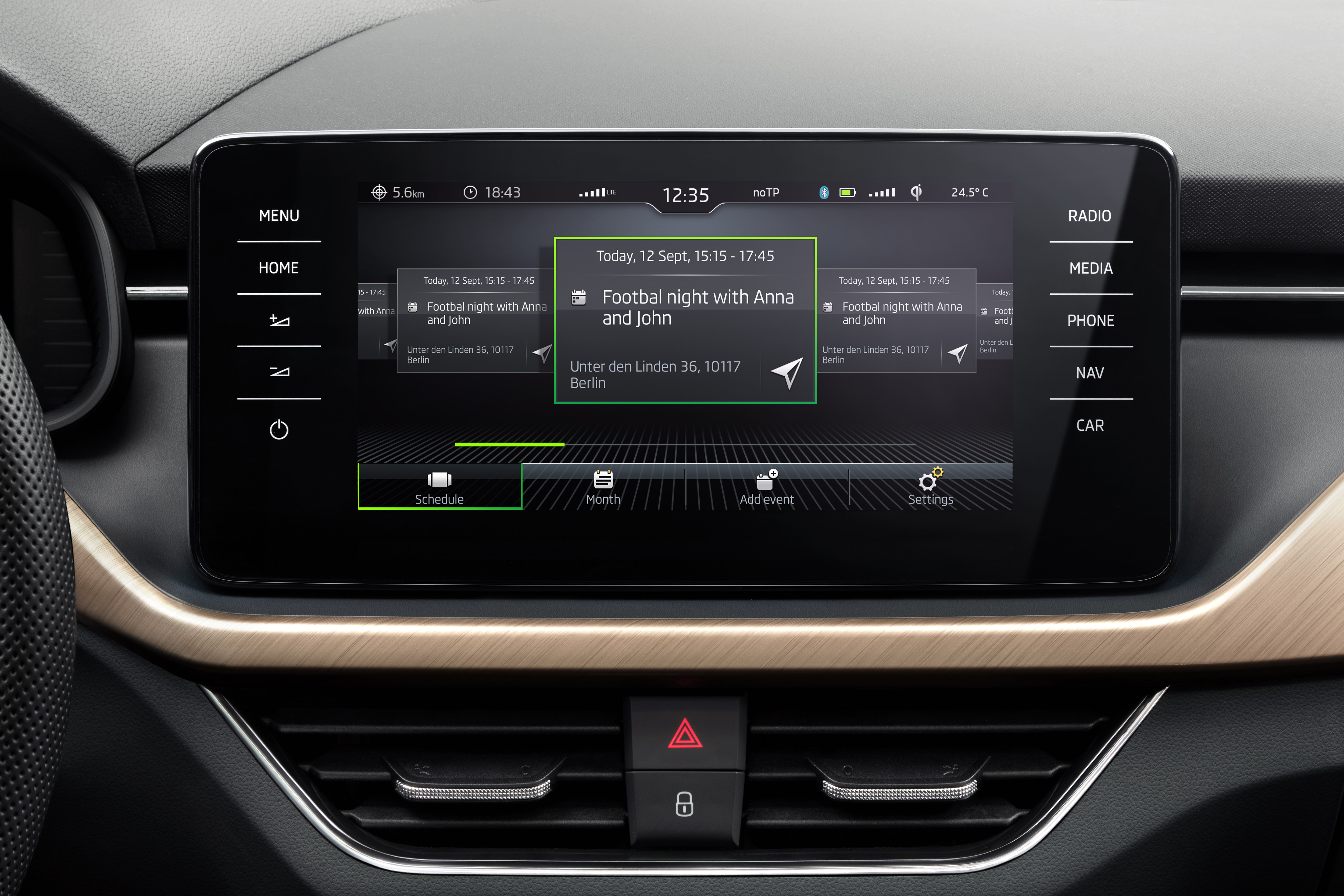 SKODA launches Calendar App for the SCALA and KAMIQ - Image 1