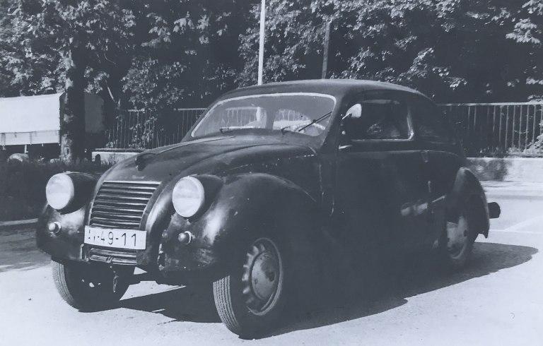 ŠKODA RAPID OHV v roku 1978
