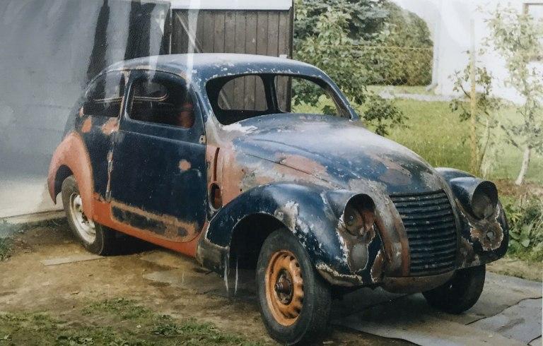 ŠKODA RAPID OHV v roku 2002