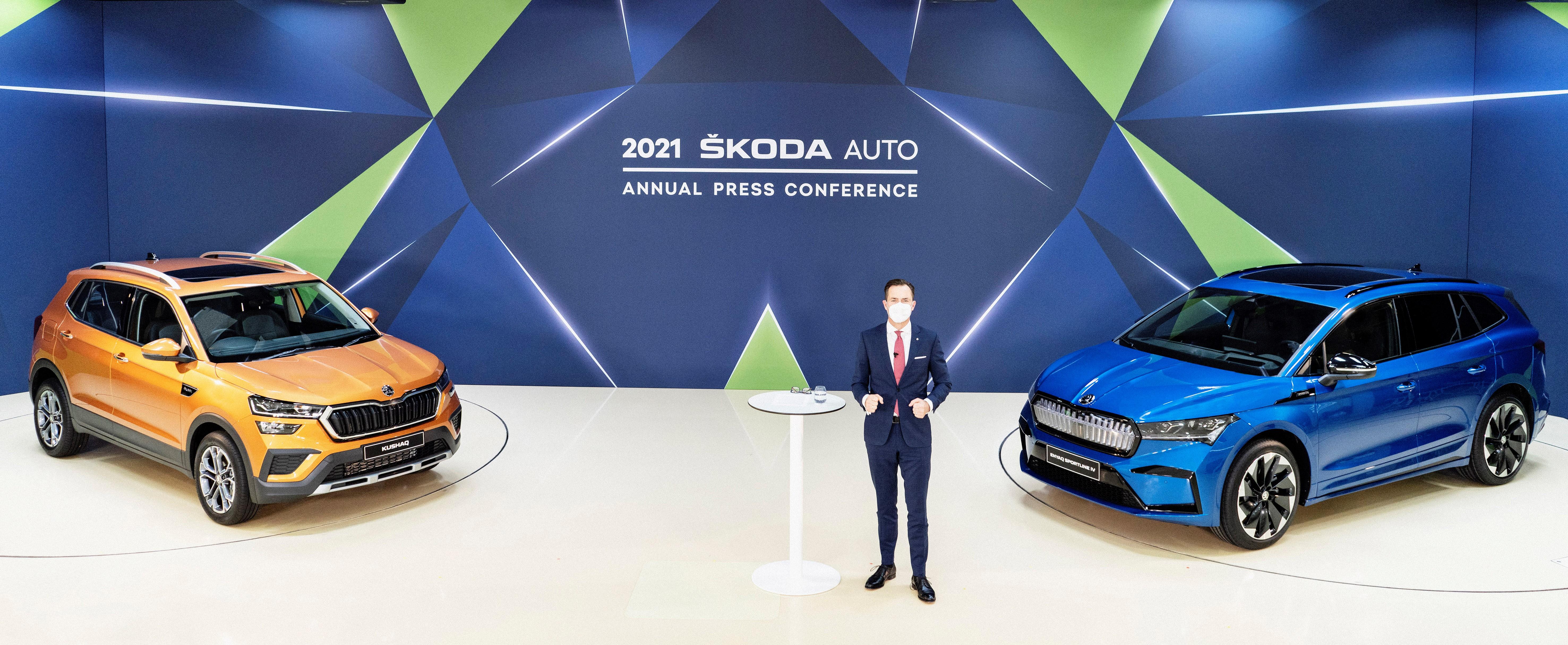 ŠKODA AUTO Annual Press Conference 2021