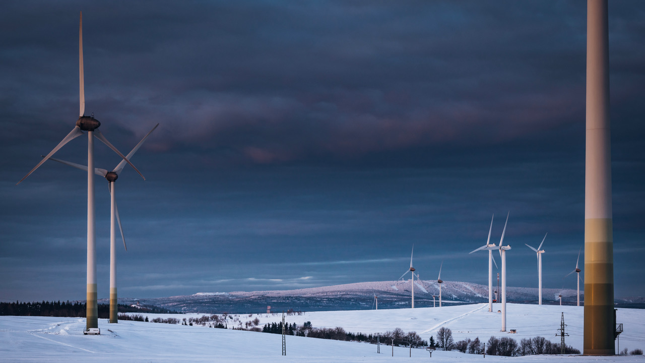 Kryštofovy Hamry wind farm