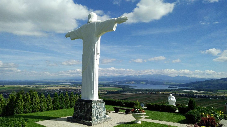 Kópia slávnej sochy Krista z Rio de Janeira