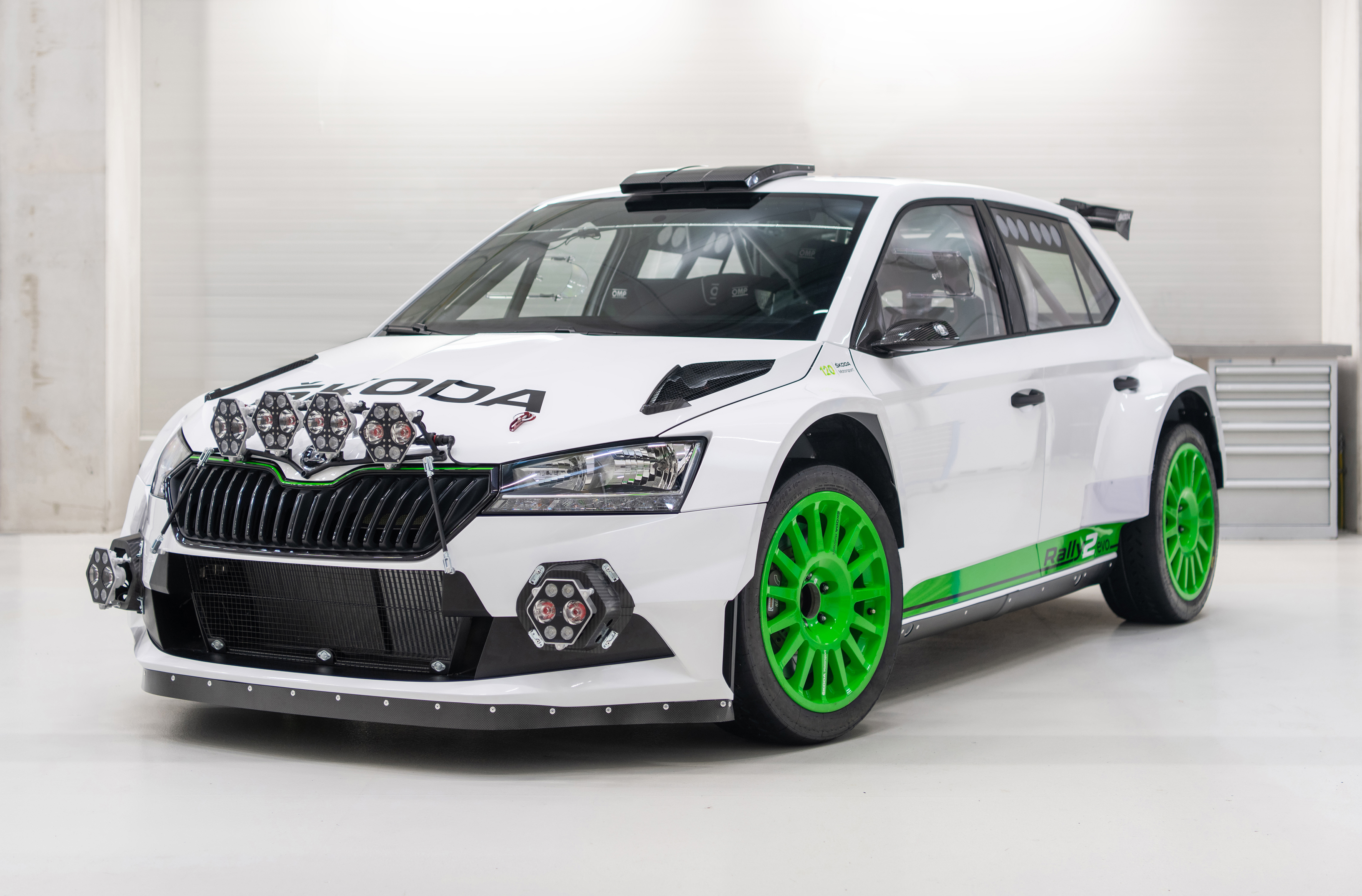 120 years in racing – SKODA Motorsport celebrates with limited SKODA FABIA Rally2 evo Edition 120 - Image 3