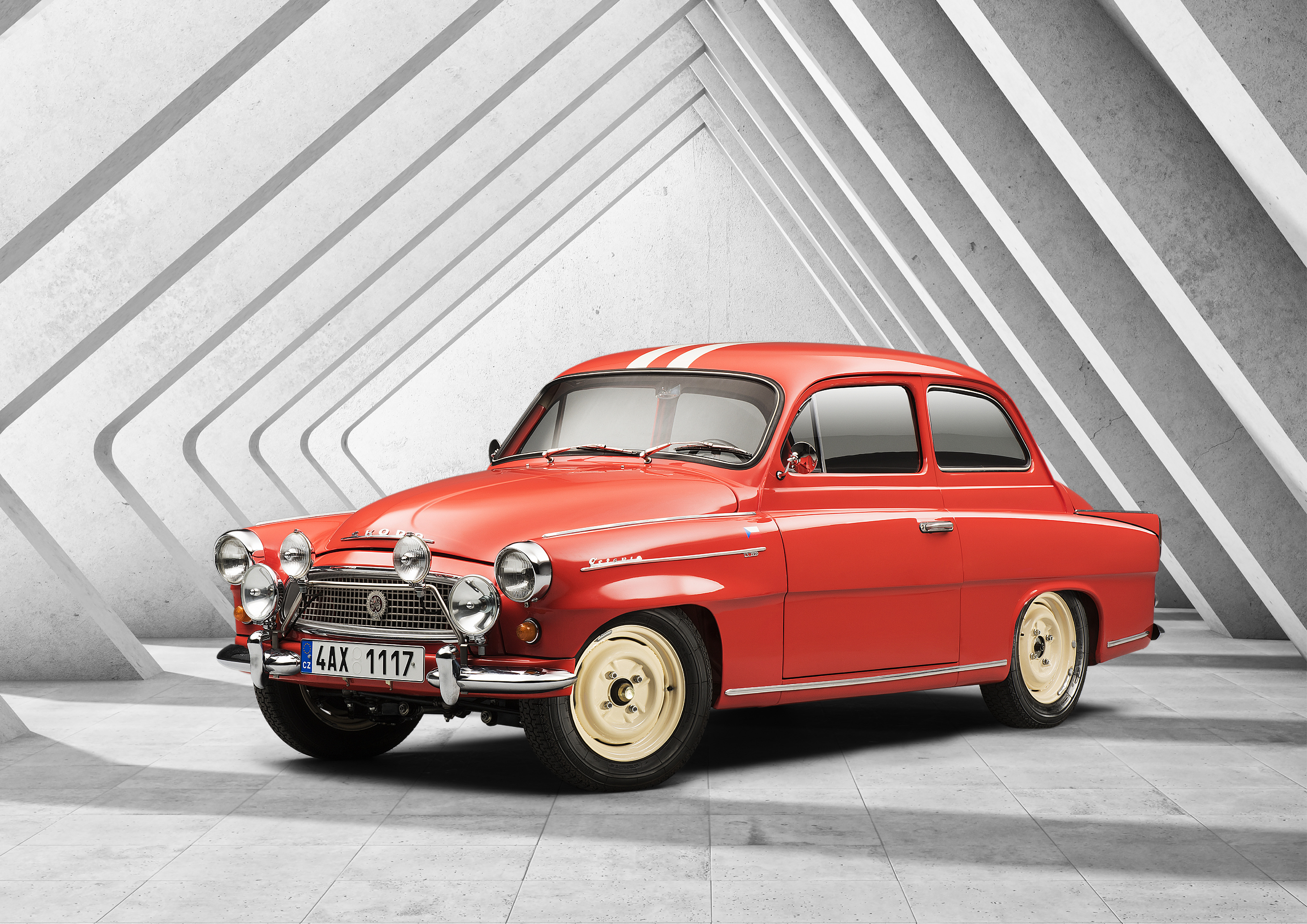 SKODA OCTAVIA TOURING SPORT (1960): Successful return to international rally courses - Image 8