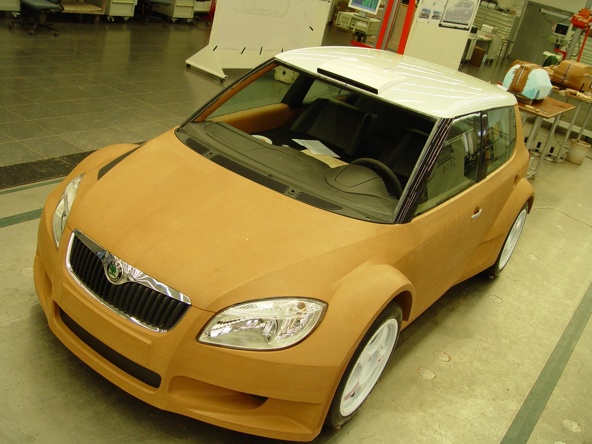 FABIA S2000 plastelínový model