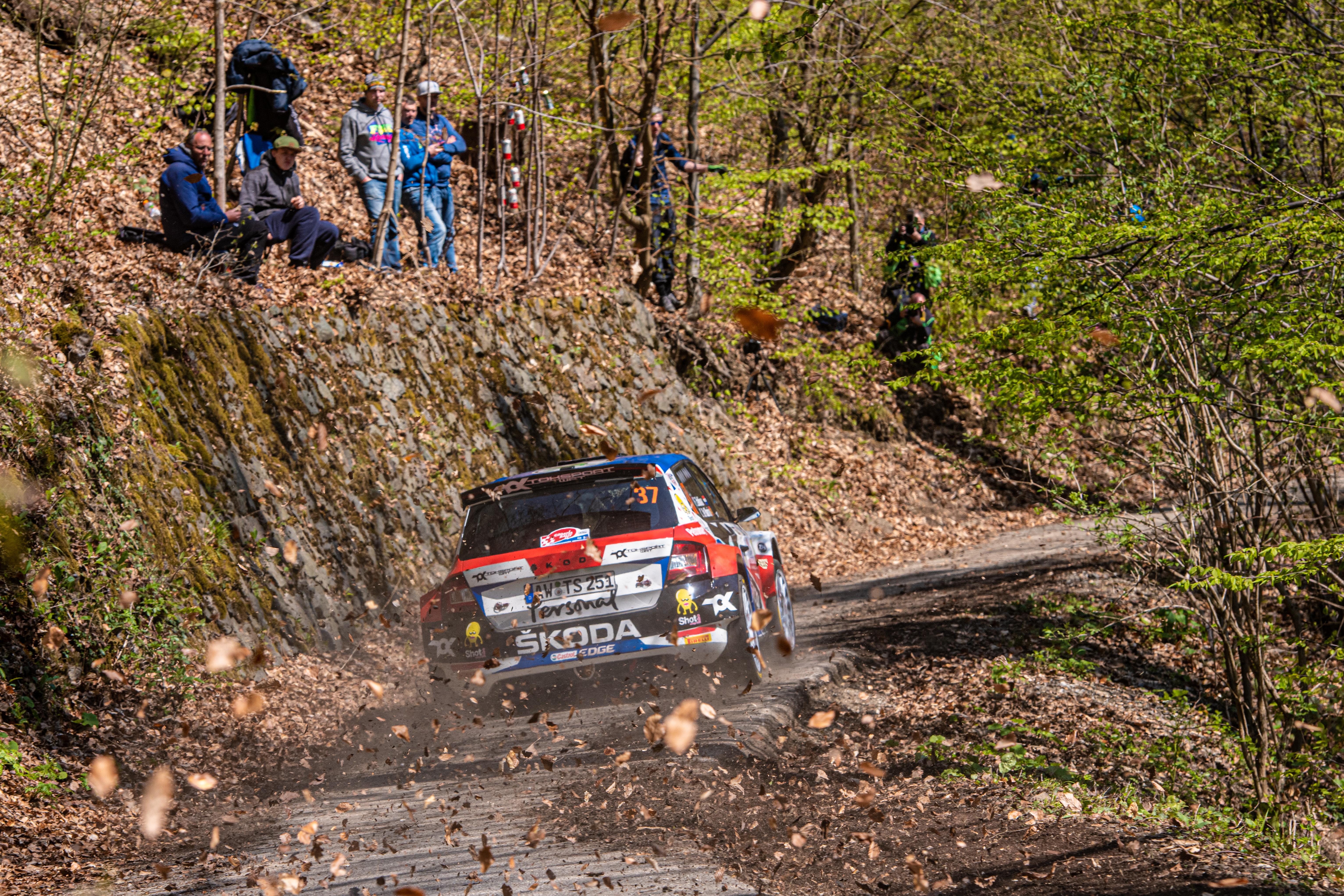 Rally Croatia: SKODA FABIA Rally2 evo crews storm to convincing 1-2-3 in WRC3 category - Image 7