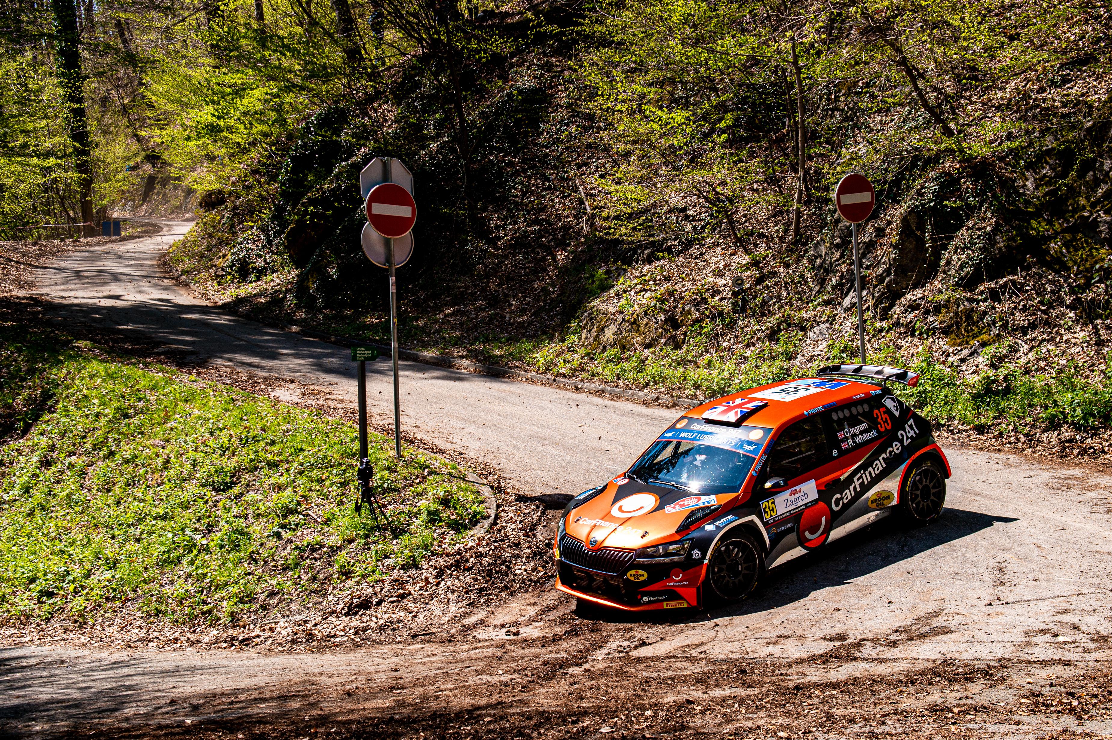 Rally Croatia: SKODA FABIA Rally2 evo crews storm to convincing 1-2-3 in WRC3 category - Image 2