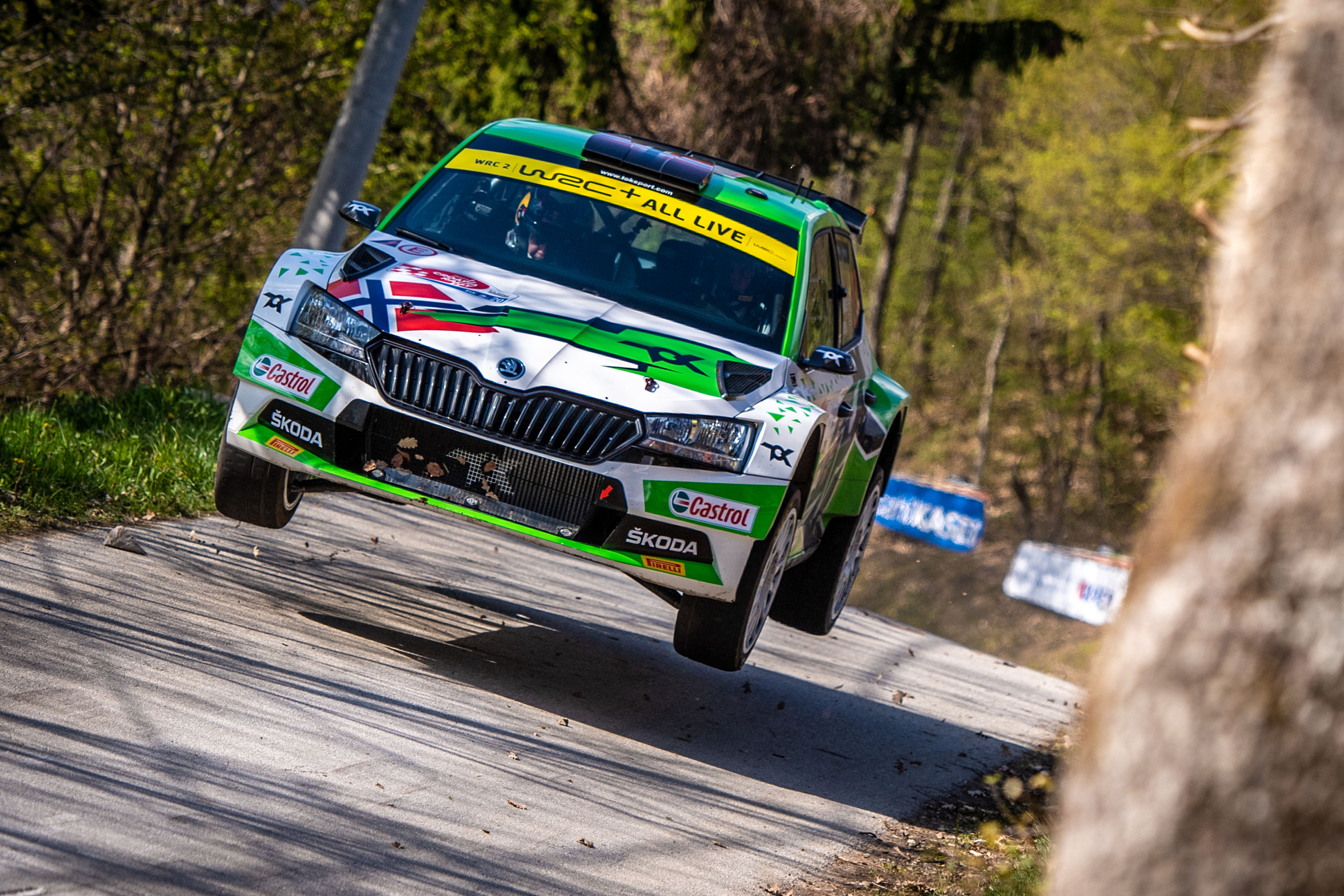 Rally Italia Sardegna: SKODA crews fight for victories in WRC2 and WRC3 - Image 3