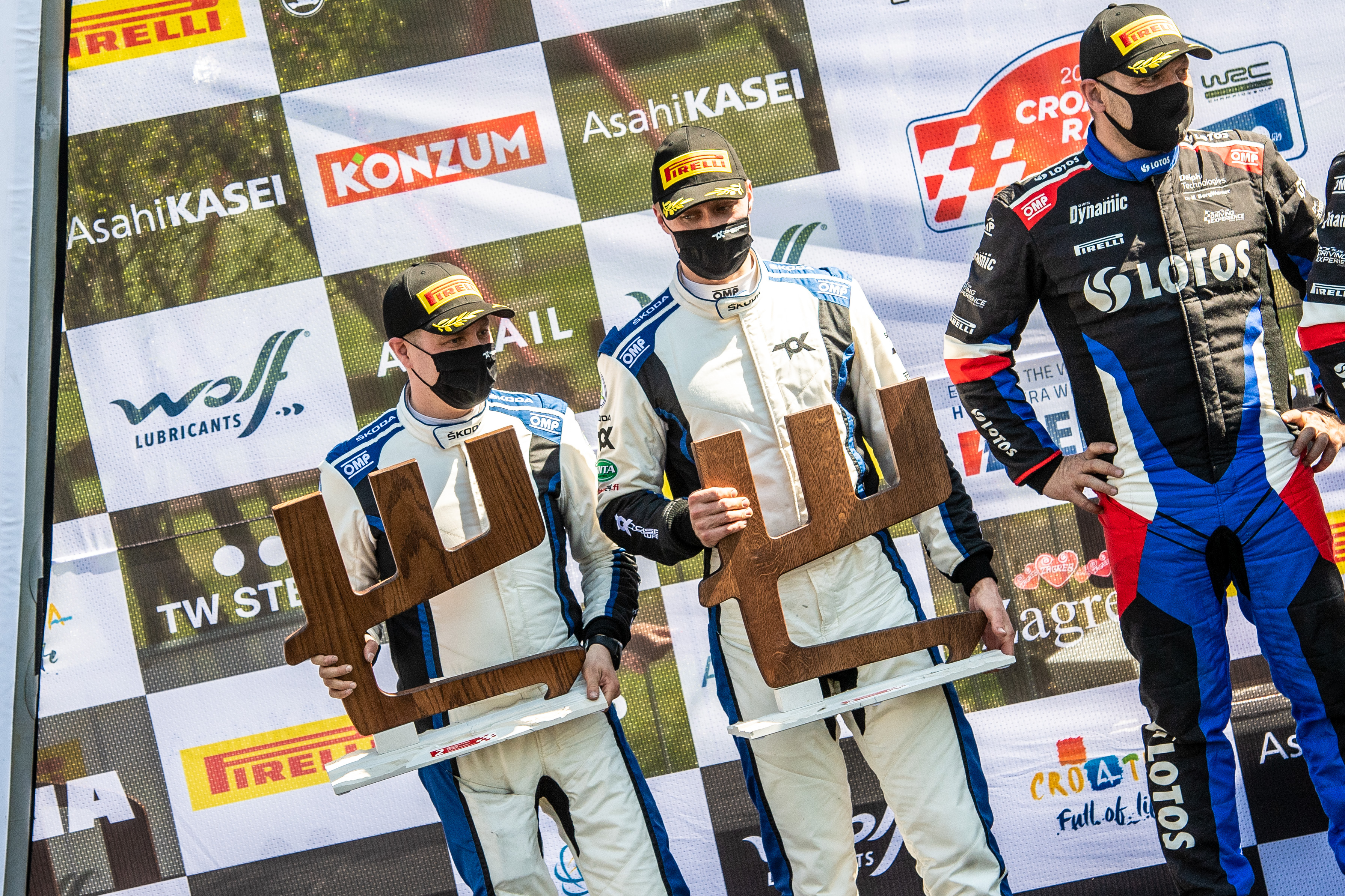 Rally Croatia: SKODA crews score 1-2 in WRC3, Andreas Mikkelsen defends WRC2 overall lead - Image 4