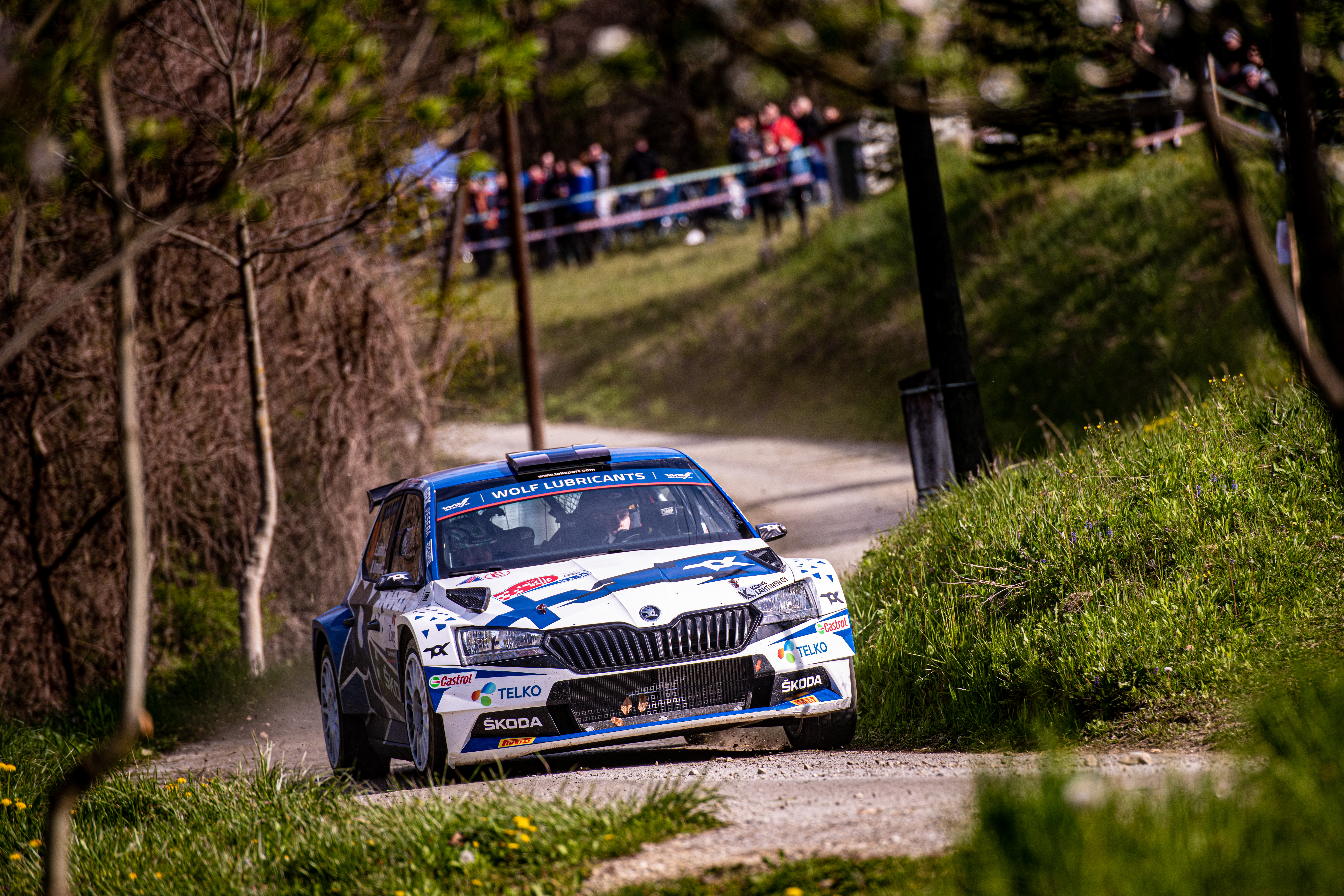 Rally Croatia: SKODA crews score 1-2 in WRC3, Andreas Mikkelsen defends WRC2 overall lead - Image 2