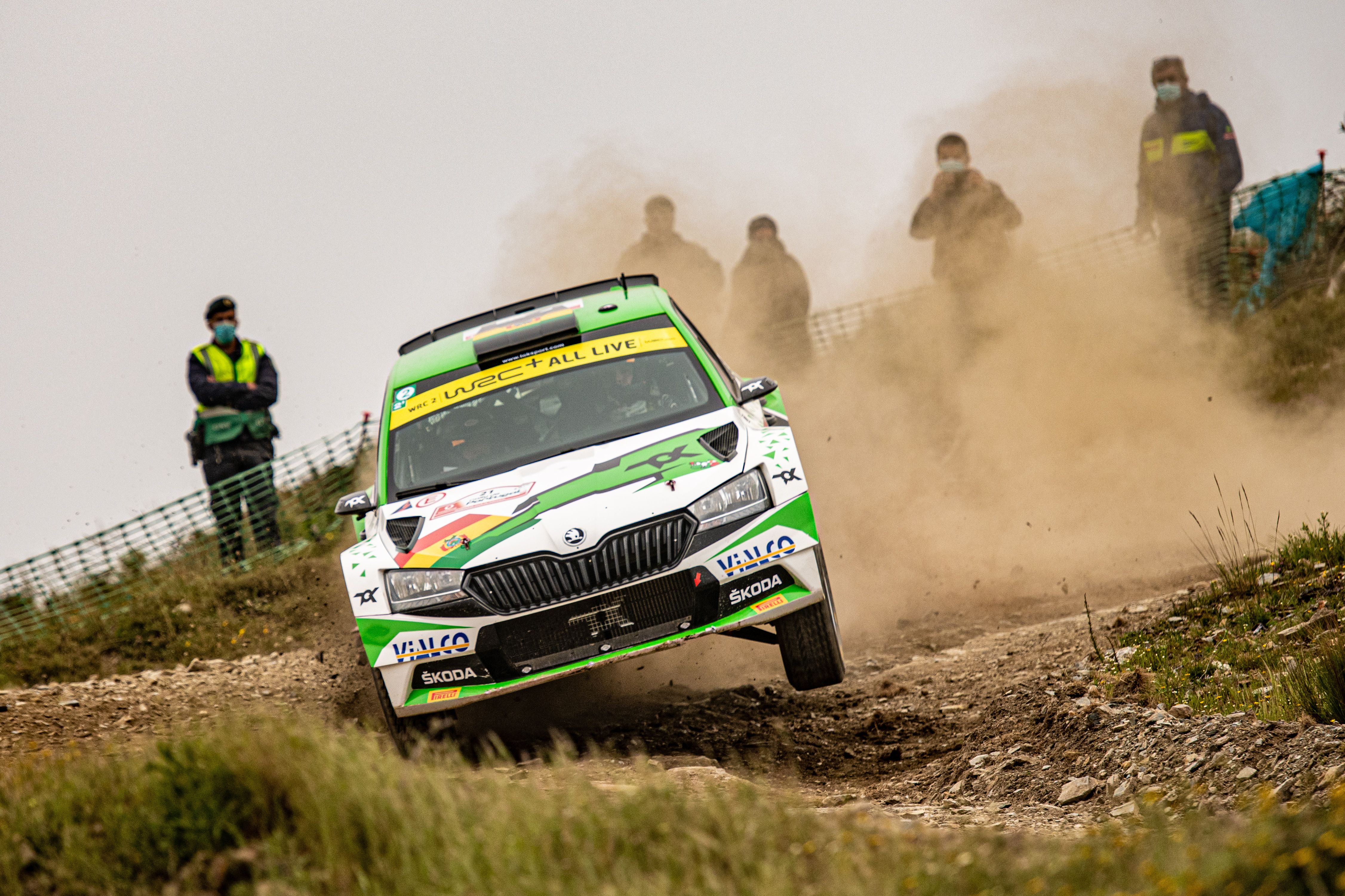 Rally Italia Sardegna: SKODA crews fight for victories in WRC2 and WRC3 - Image 2