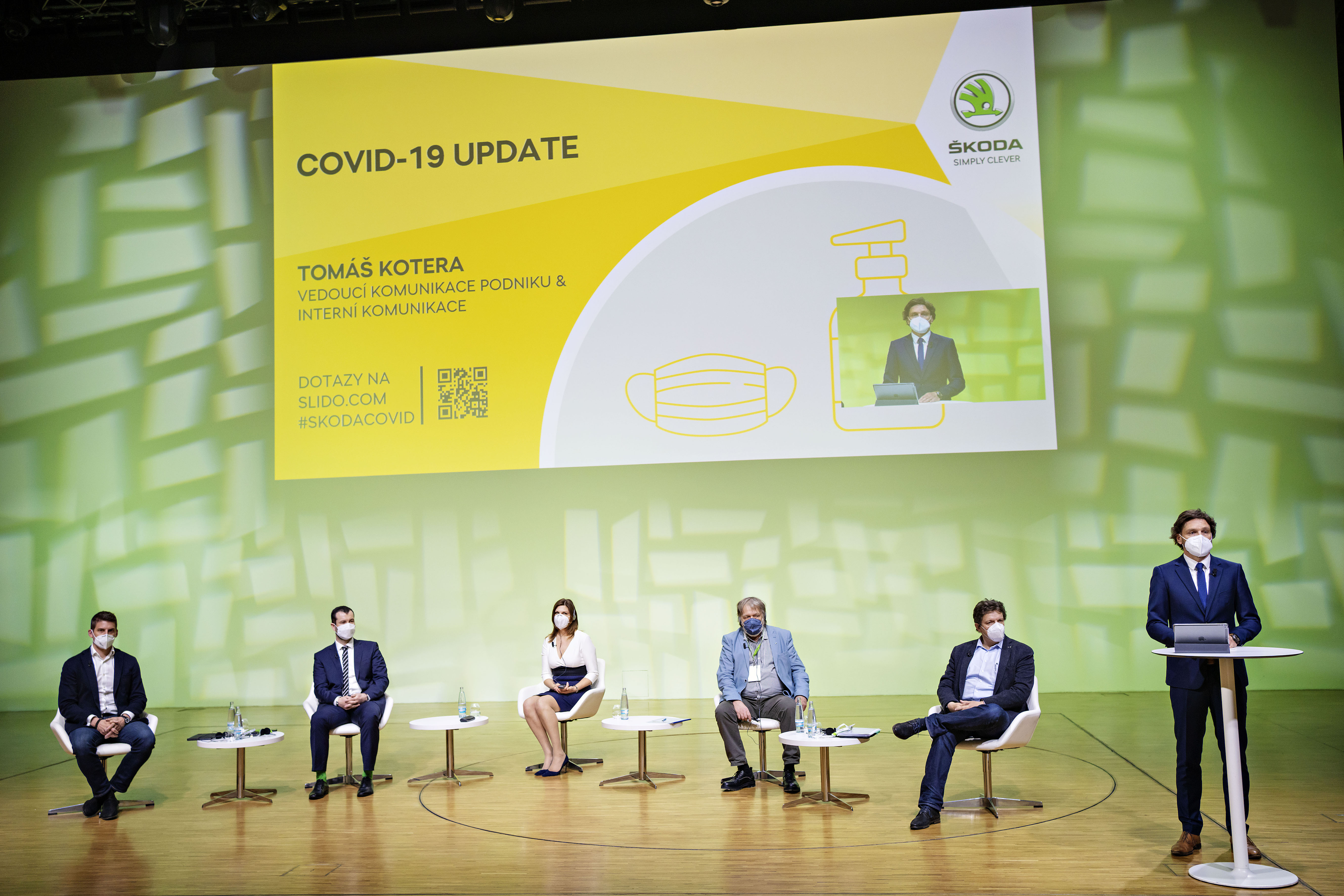 Update on COVID-19: recorded broadcast of the SKODA AUTO online roundtable - Image 1