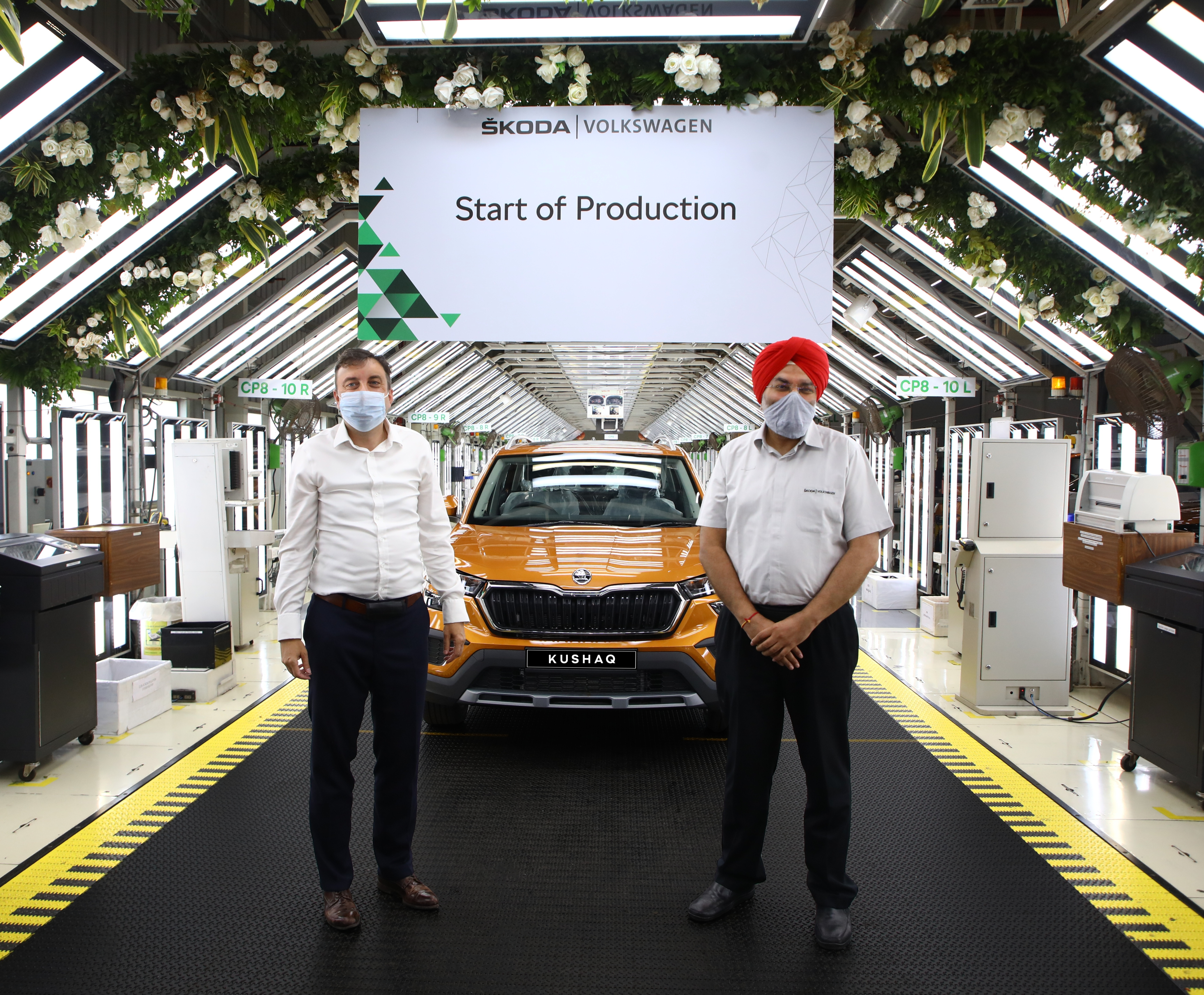 SKODA AUTO Volkswagen India Private Limited launches series production of the new SUV model KUSHAQ - Image 3