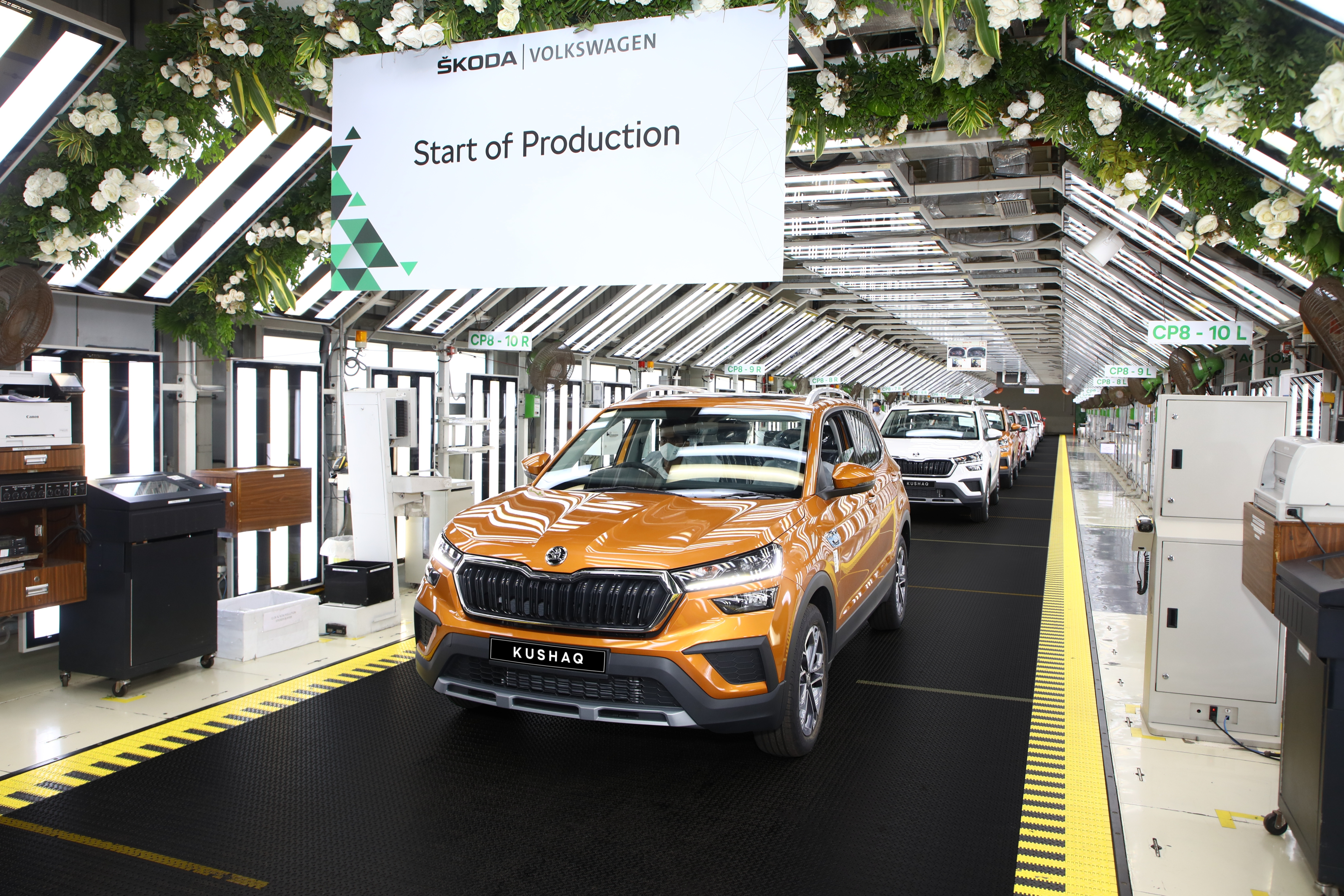 SKODA AUTO Volkswagen India Private Limited launches series production of the new SUV model KUSHAQ - Image 2