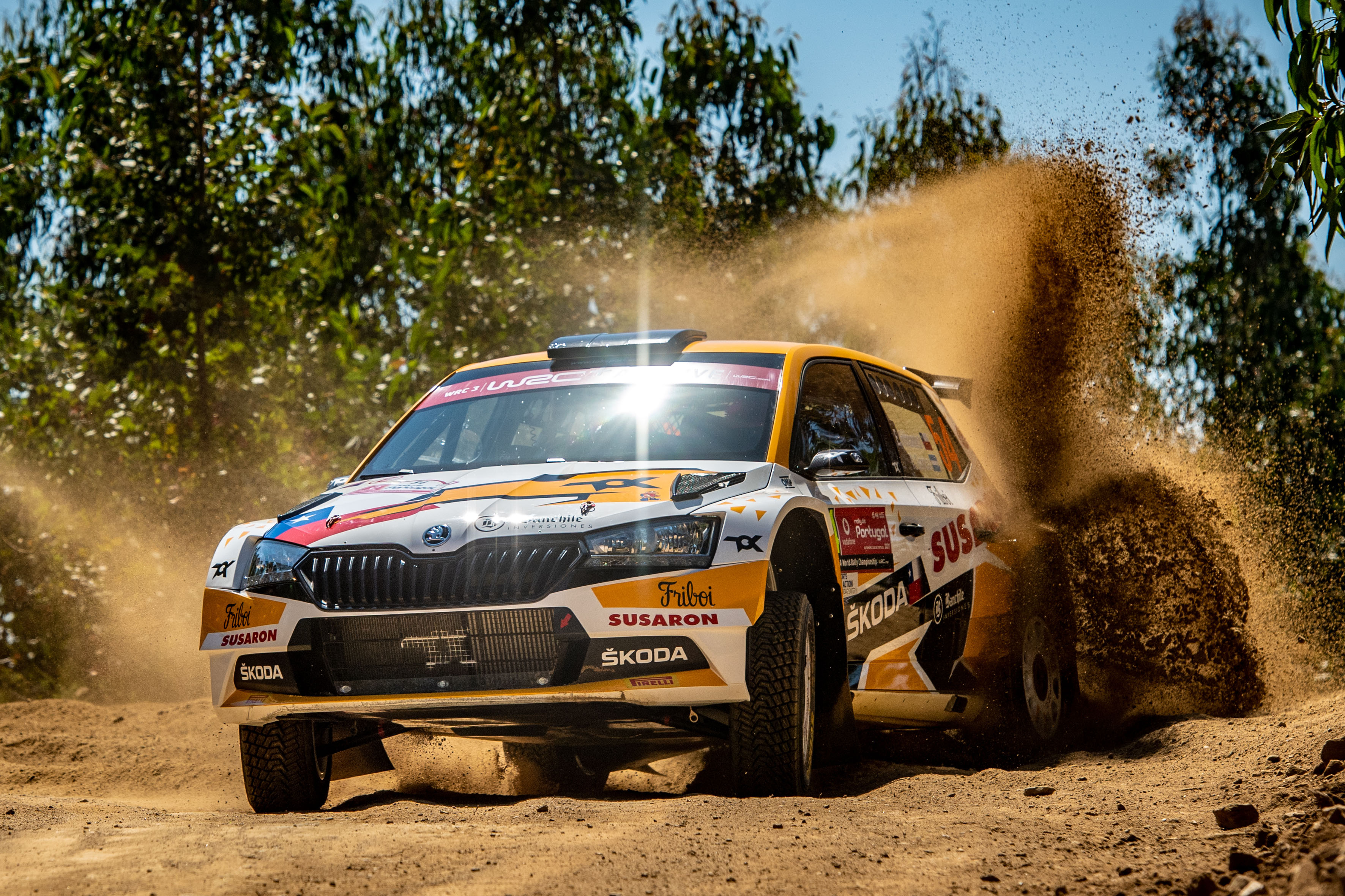 Rally Poland: Andreas Mikkelsen conquers second place with SKODA FABIA Rally2 evo - Image 1