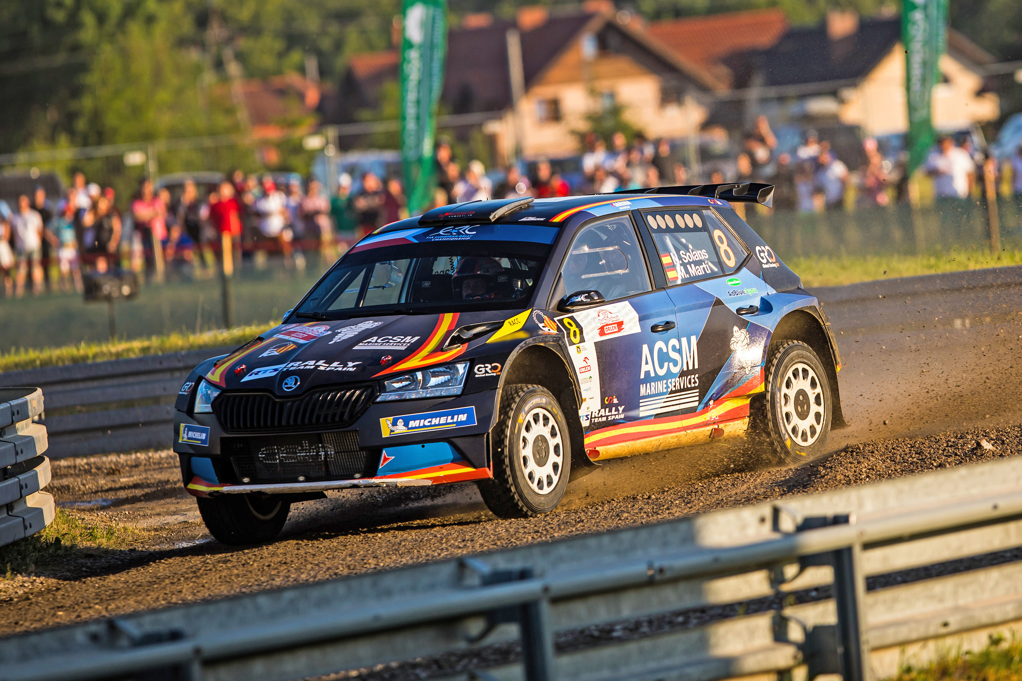 Rally Poland: Andreas Mikkelsen conquers second place with SKODA FABIA Rally2 evo - Image 6