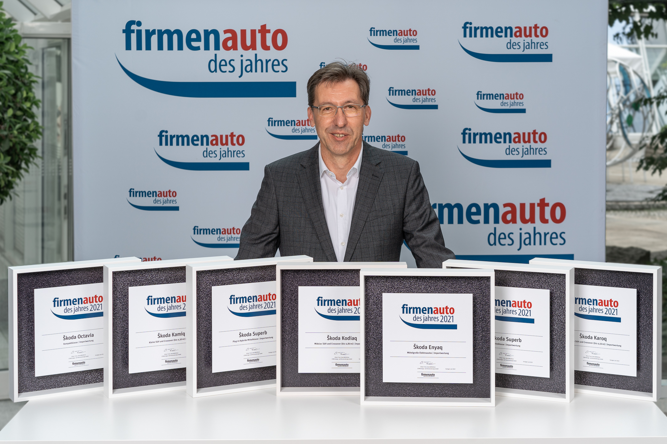 SKODA AUTO wins seven titles in 'Company Car of the Year 2021' competition - Image 2