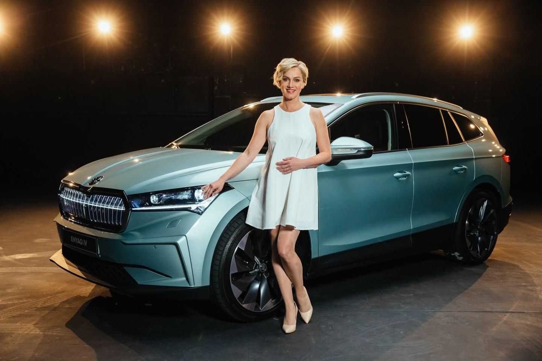 Monika Hilmerová sa stala ambasádorkou elektromobility pre značku ŠKODA