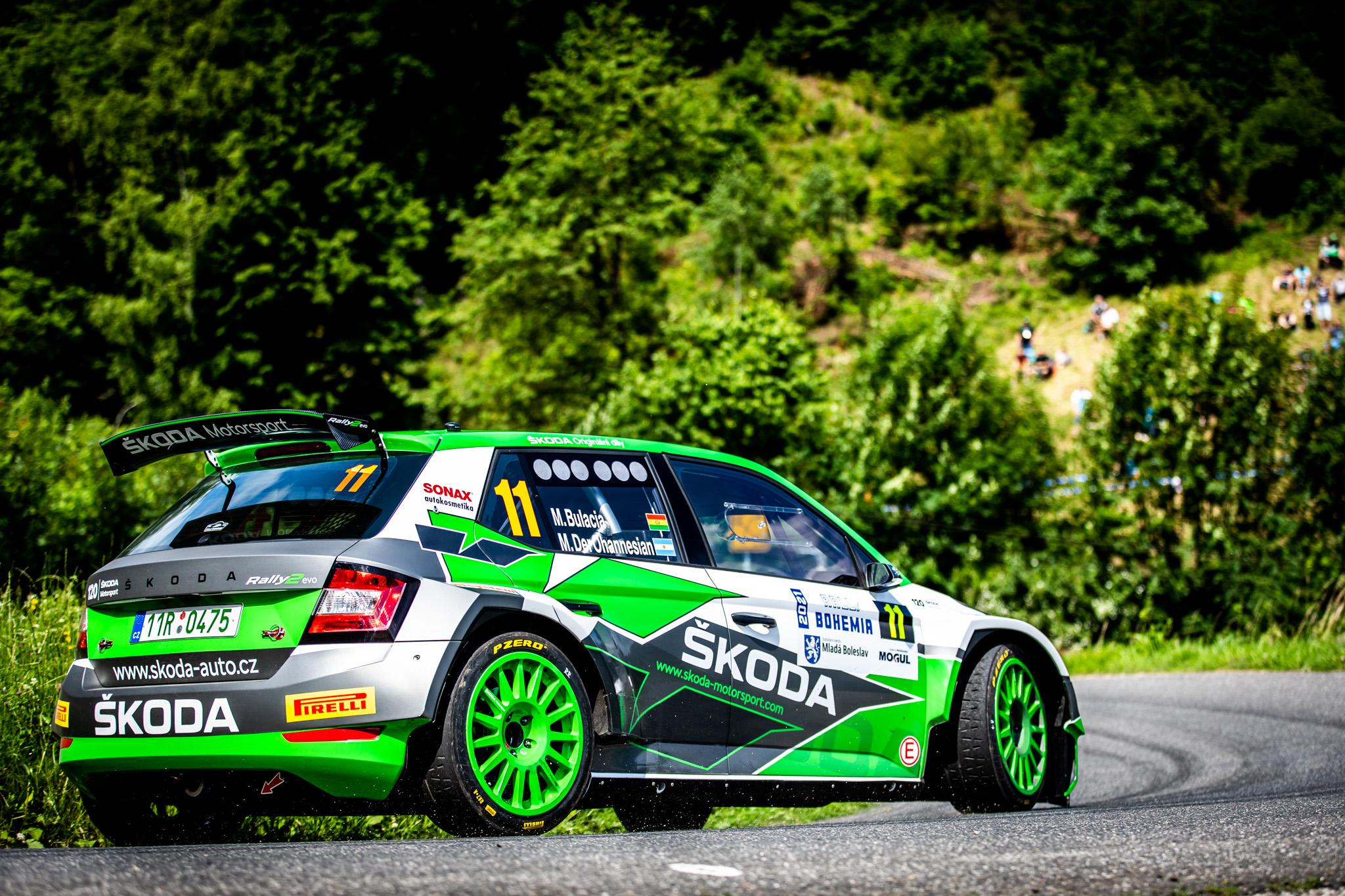 Jan Kopecký celebrates 120 years of SKODA in motorsport with ninth victory at Bohemia Rally - Image 1
