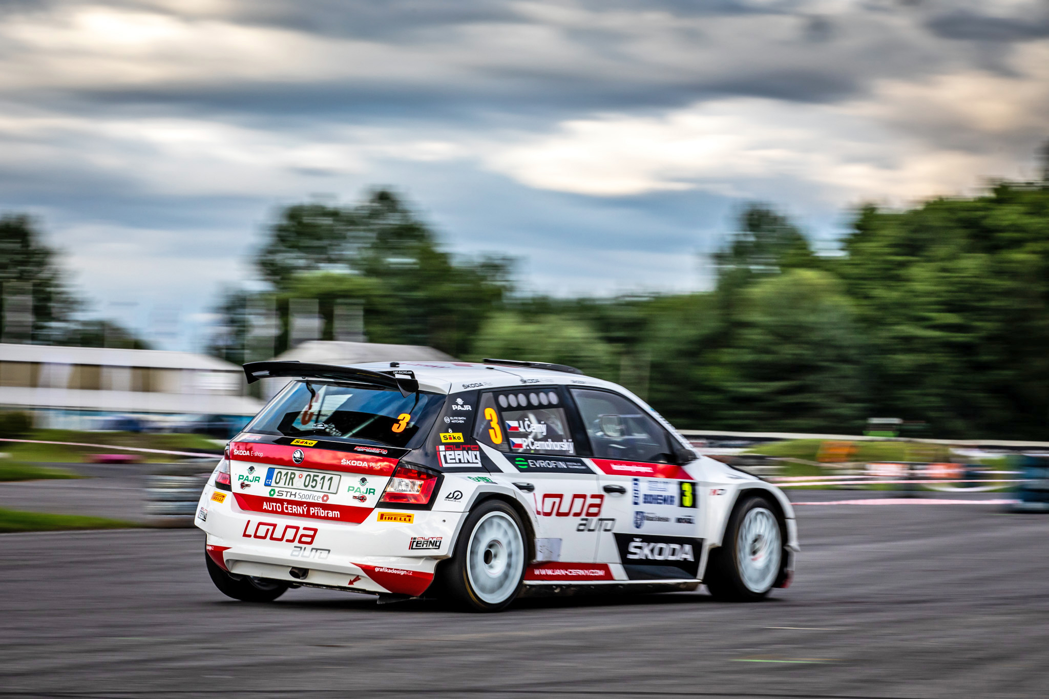 Jan Kopecký celebrates 120 years of SKODA in motorsport with ninth victory at Bohemia Rally - Image 5