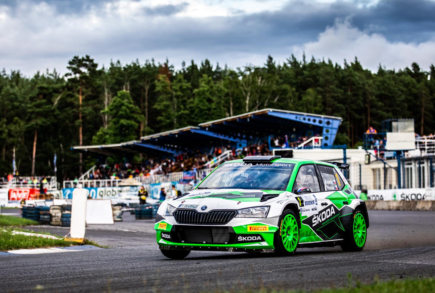 Jan Kopecký celebrates 120 years of SKODA in motorsport with ninth victory at Bohemia Rally - Image 2