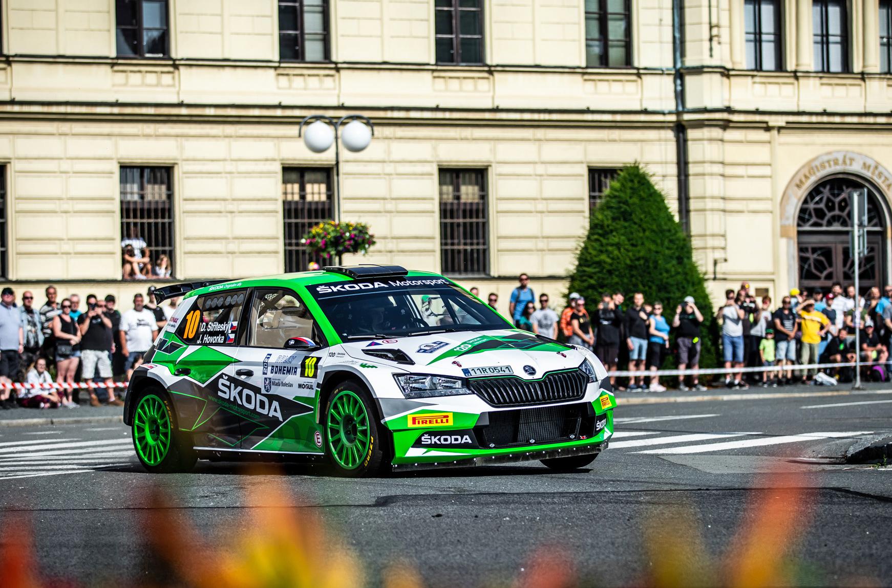 Jan Kopecký celebrates 120 years of SKODA in motorsport with ninth victory at Bohemia Rally - Image 3