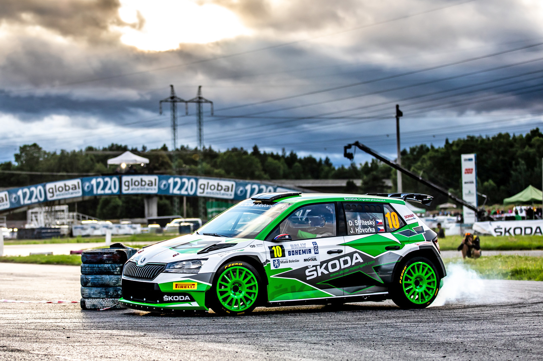 Jan Kopecký celebrates 120 years of SKODA in motorsport with ninth victory at Bohemia Rally - Image 6