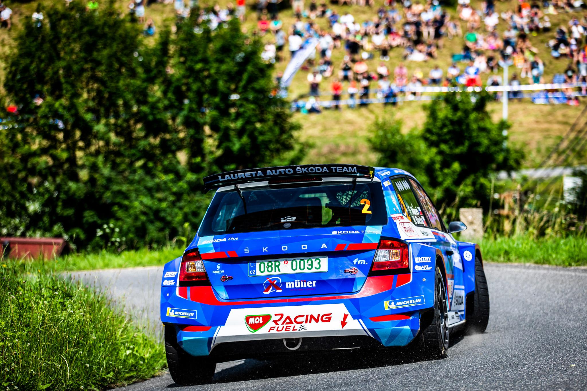 Jan Kopecký celebrates 120 years of SKODA in motorsport with ninth victory at Bohemia Rally - Image 4