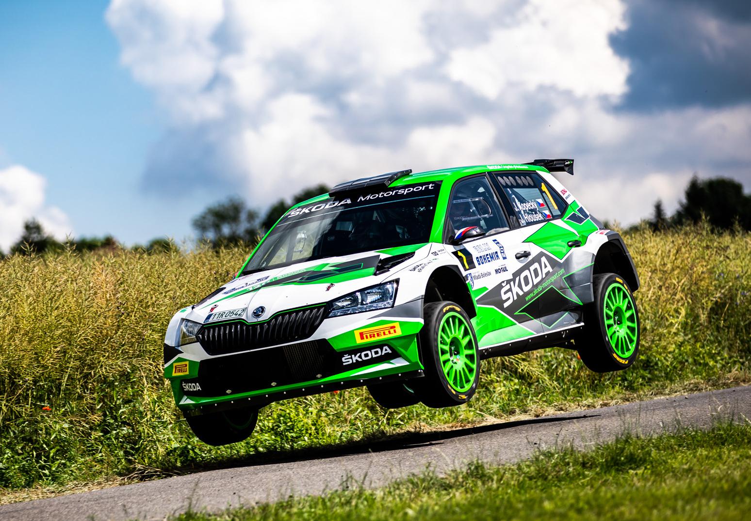Jan Kopecký celebrates 120 years of SKODA in motorsport with ninth victory at Bohemia Rally - Image 7