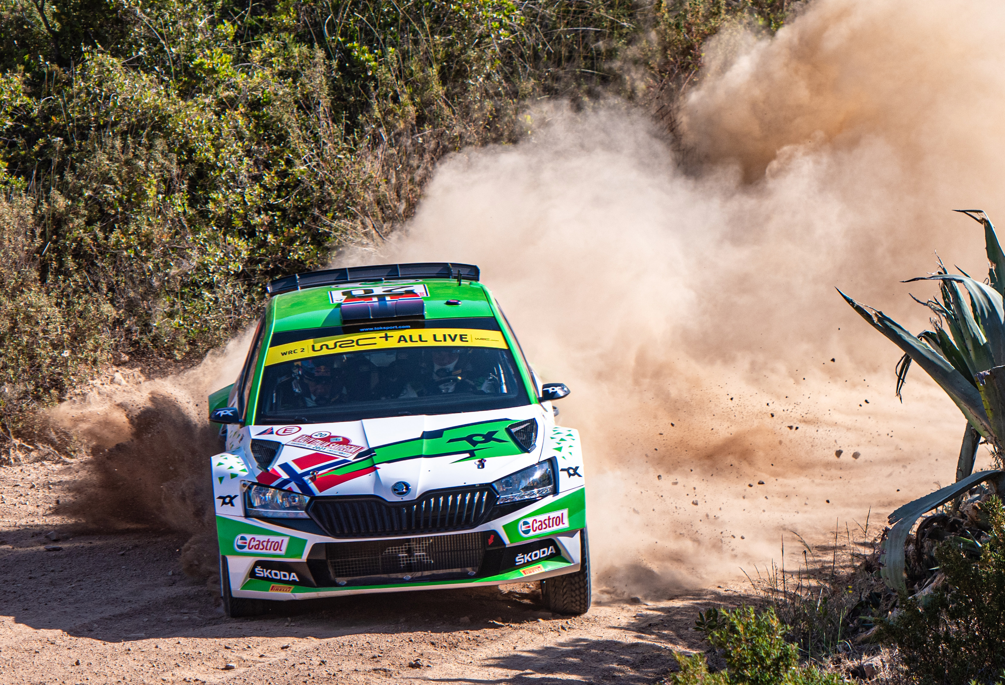 Rally Estonia: SKODA driver Andreas Mikkelsen wants to strengthen lead in WRC2 category - Image 3