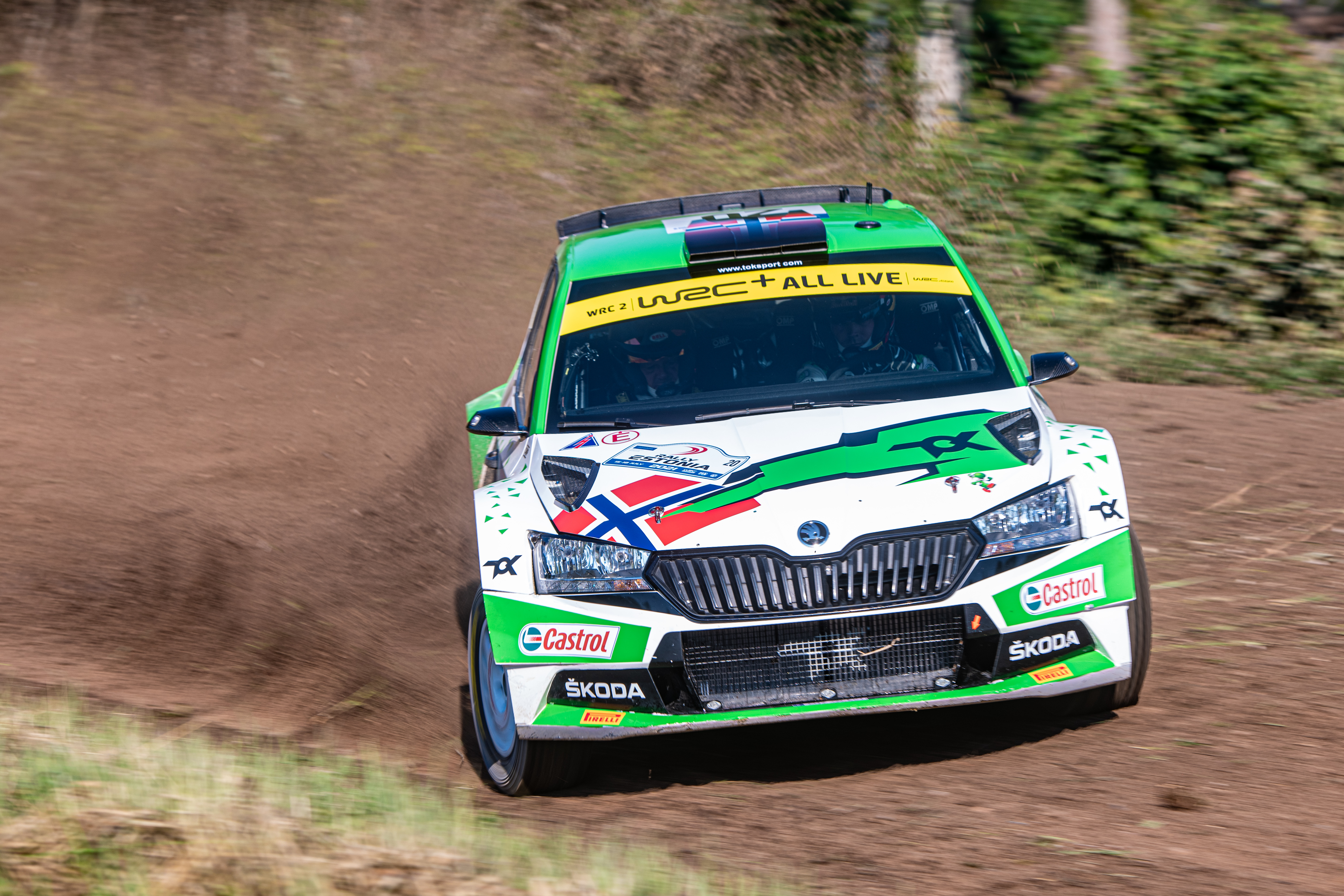 Acropolis Rally Greece: SKODA driver Andreas Mikkelsen wants to keep WRC2 title chances alive - Image 3