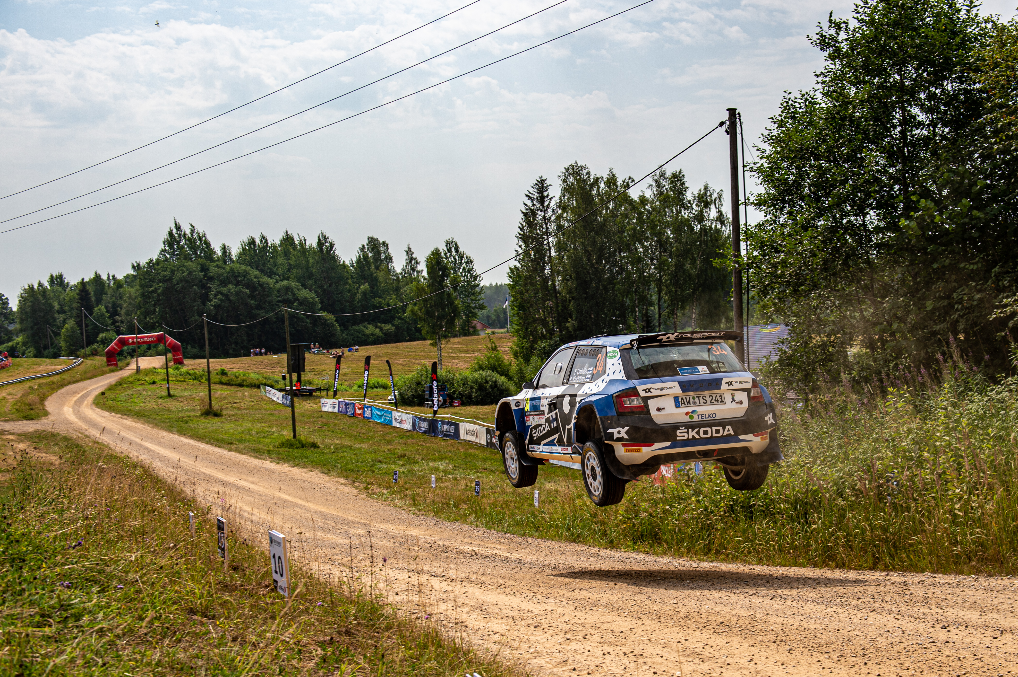 SKODA crews win WRC2 and WRC3 at Rally Estonia - Image 2