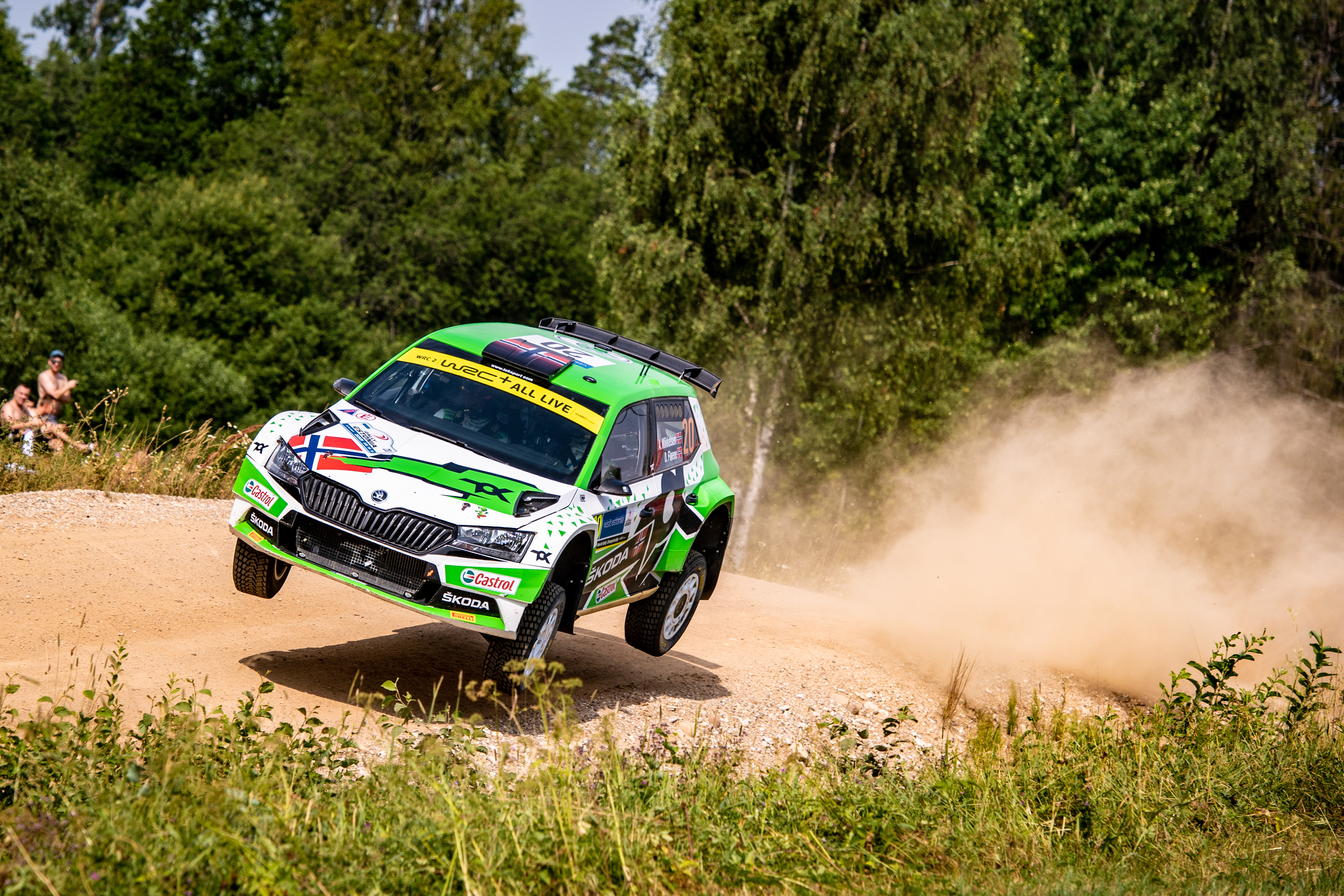 SKODA crews win WRC2 and WRC3 at Rally Estonia - Image 7