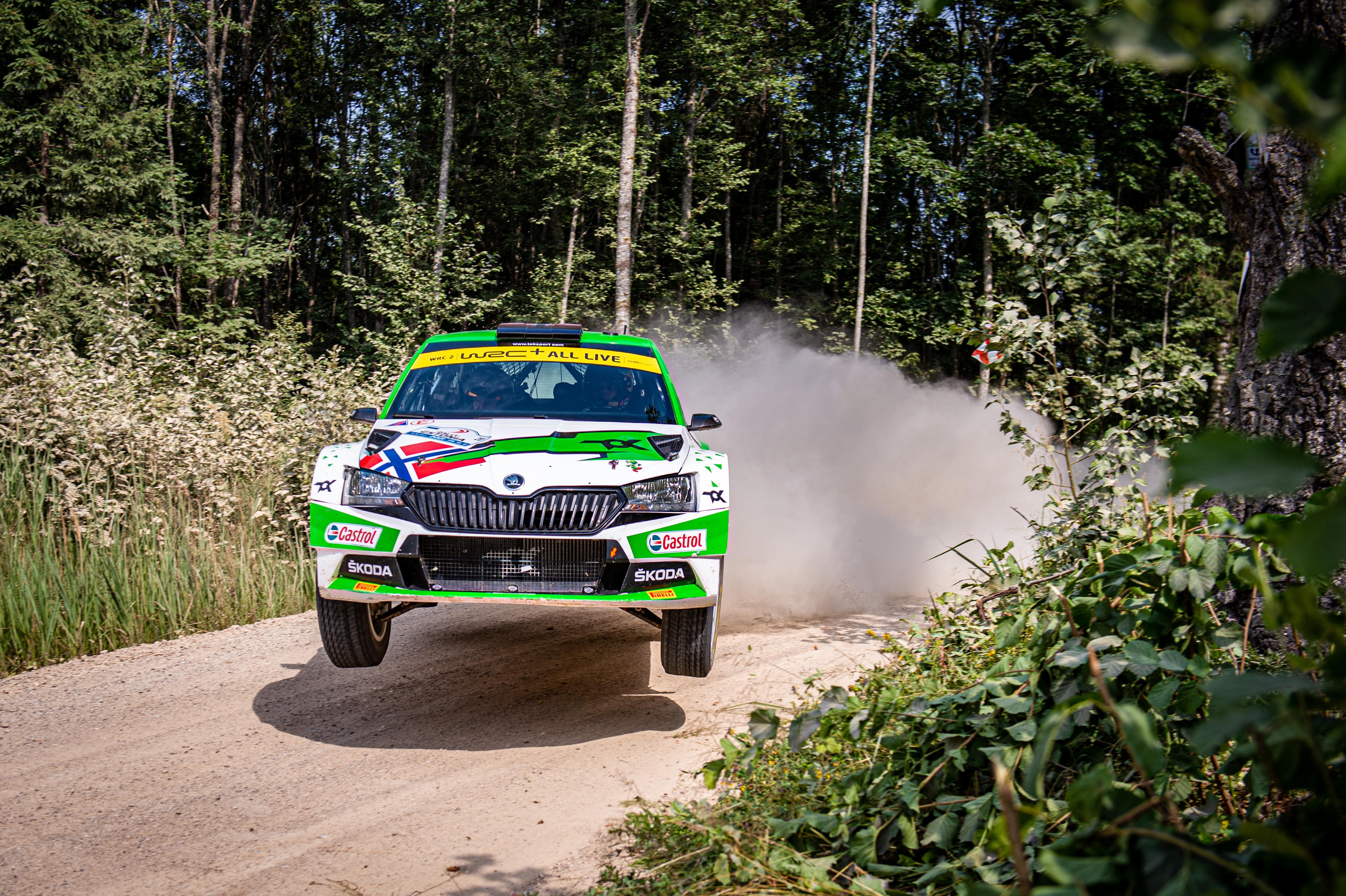 SKODA crews win WRC2 and WRC3 at Rally Estonia - Image 8