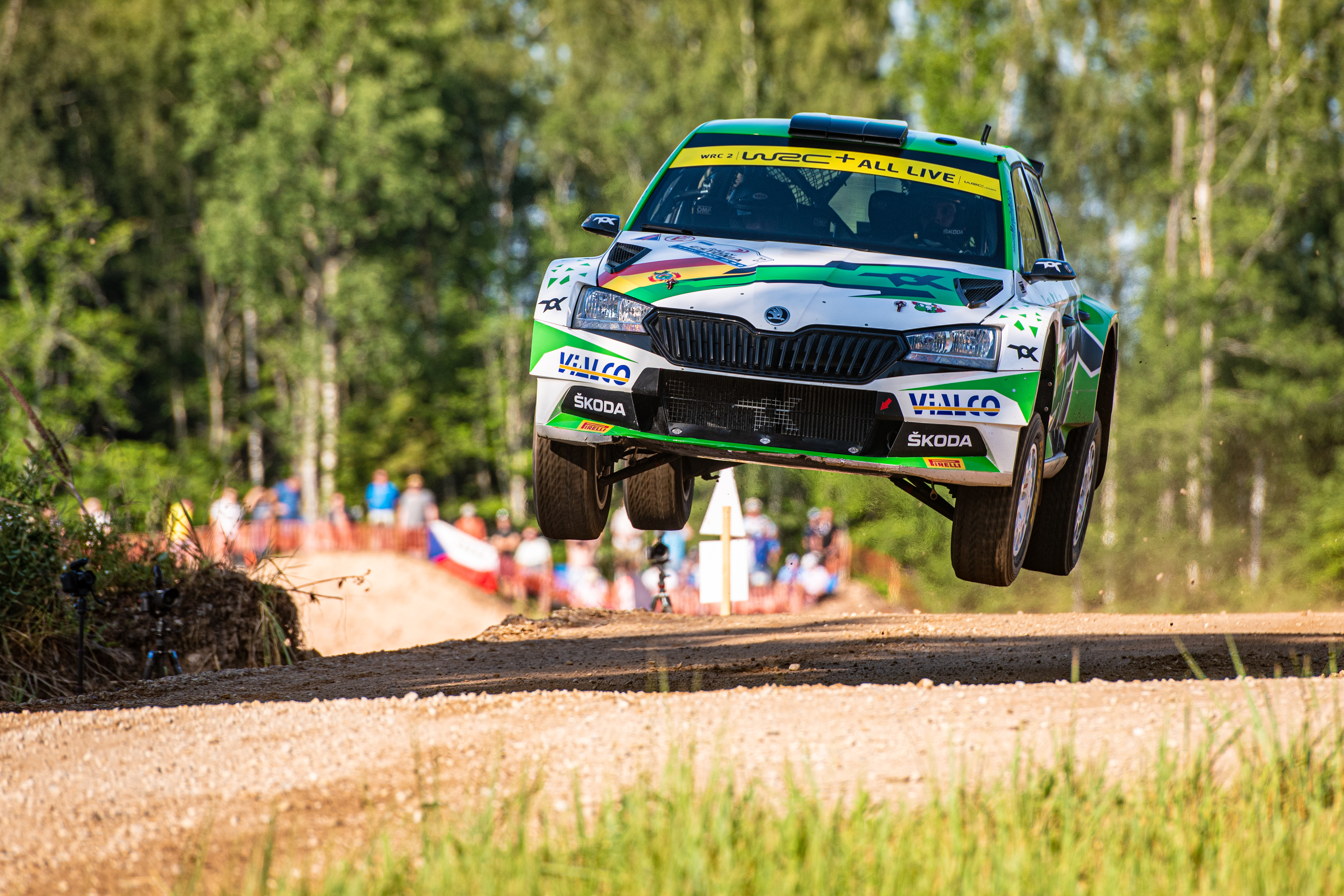 Acropolis Rally Greece: SKODA driver Andreas Mikkelsen wants to keep WRC2 title chances alive - Image 2