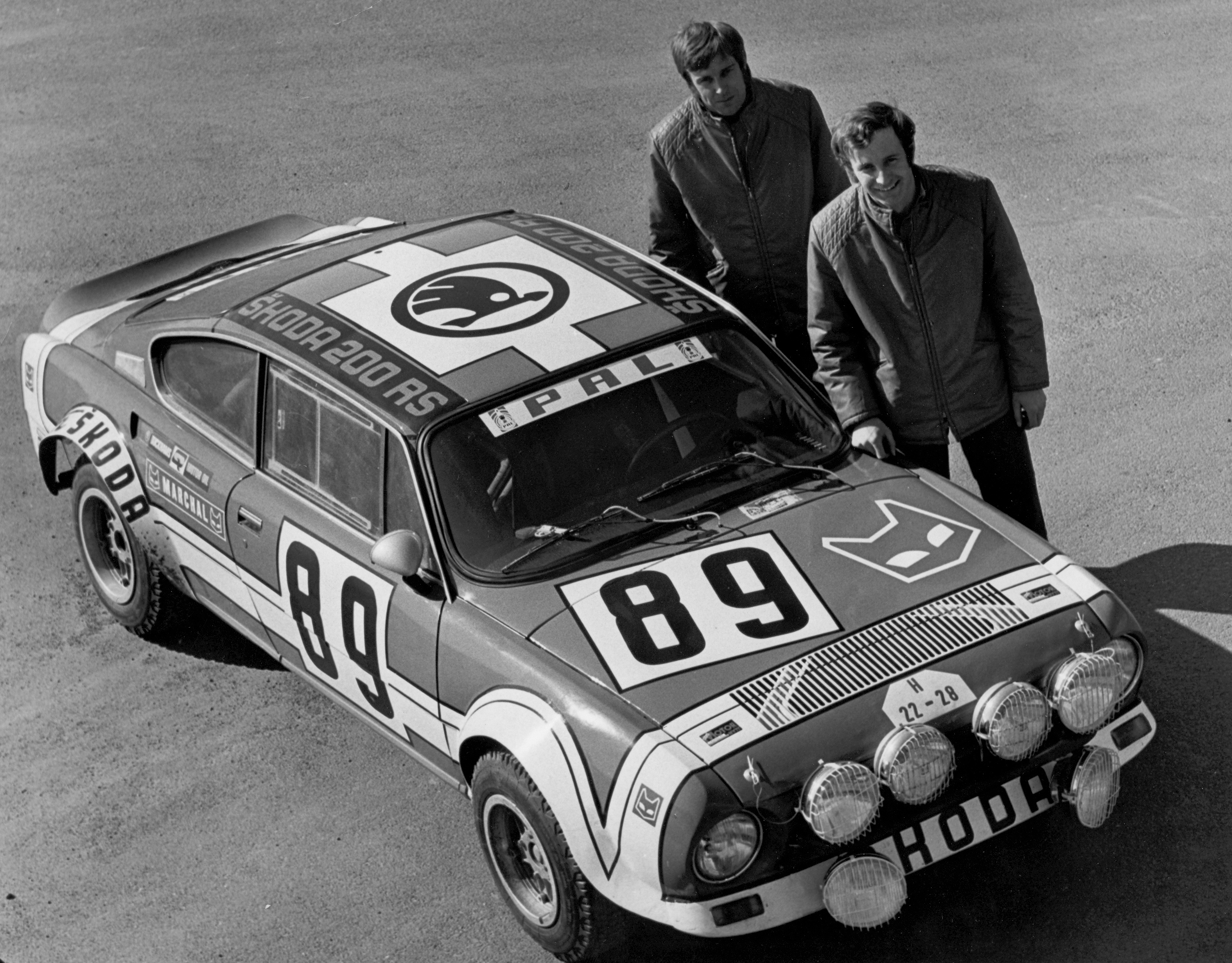 SKODA 180 RS and 200 RS (1974): Rally cars from another league - Image 1