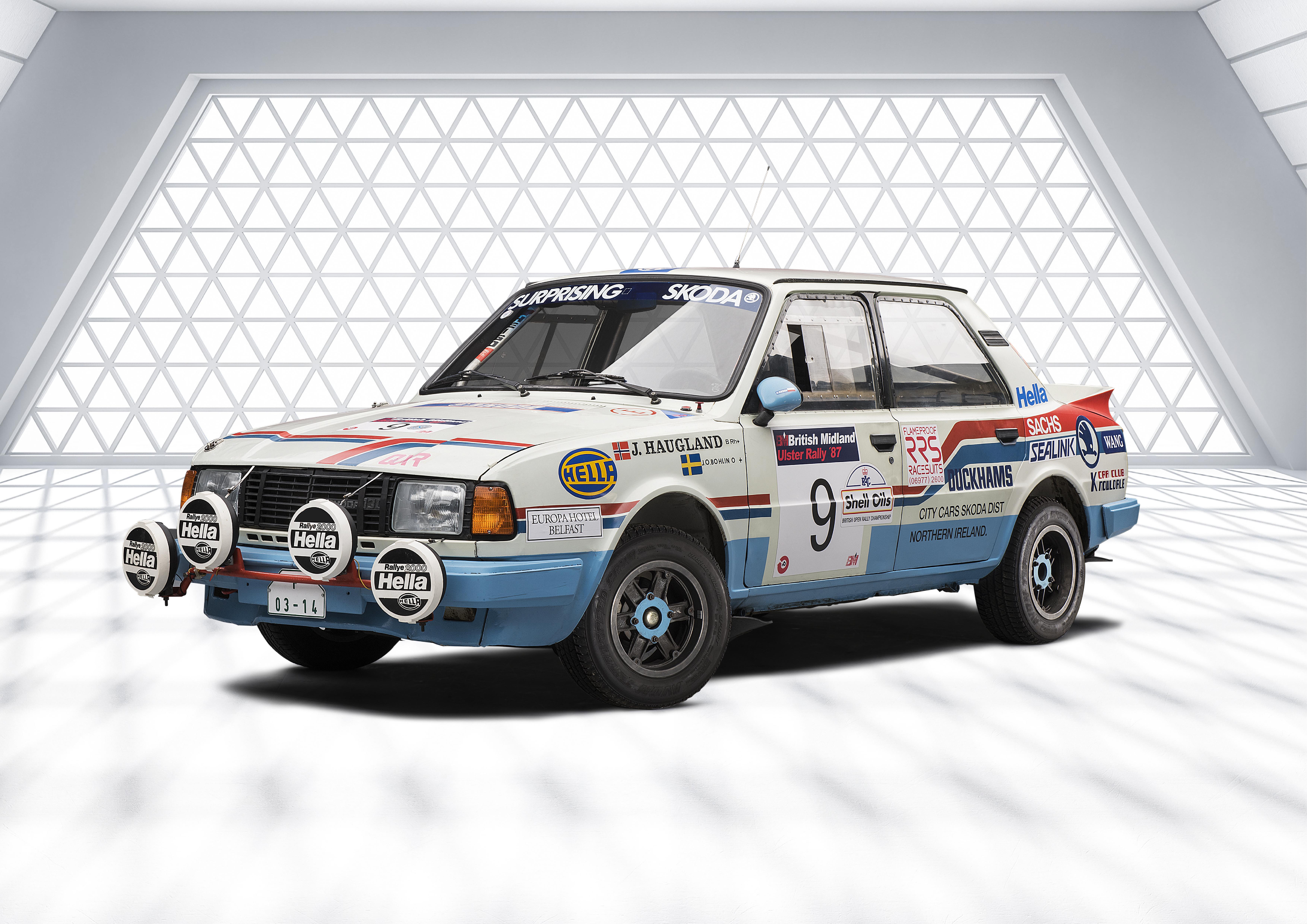 SKODA 130 LR (1984): Last motorsport model from Mladá Boleslav with rear-mounted engine - Image 8