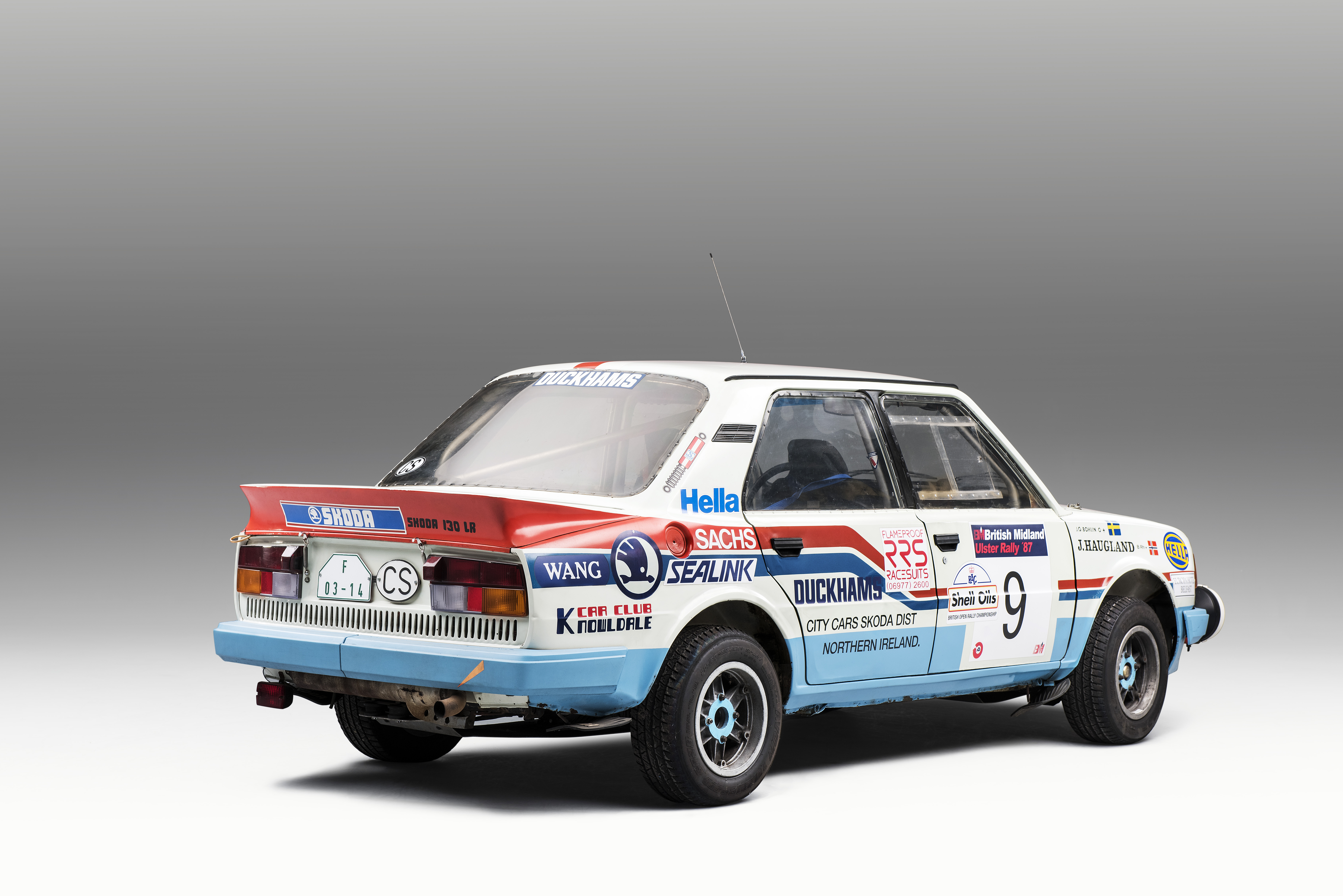 SKODA 130 LR (1984): Last motorsport model from Mladá Boleslav with rear-mounted engine - Image 6