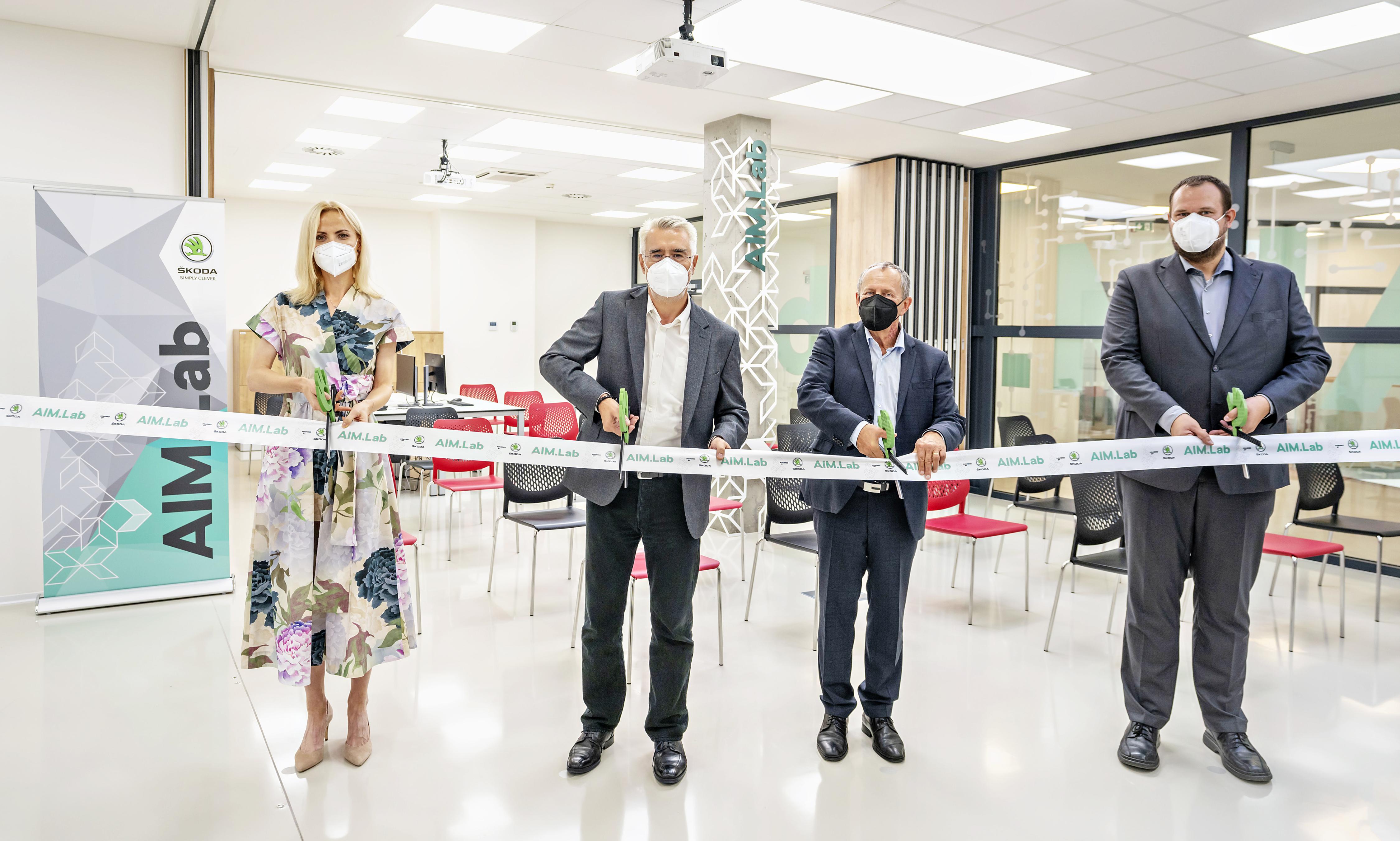 SKODA AUTO opens AIM.Lab in collaboration with the Technical University of Ostrava VSB-TUO - Image 4