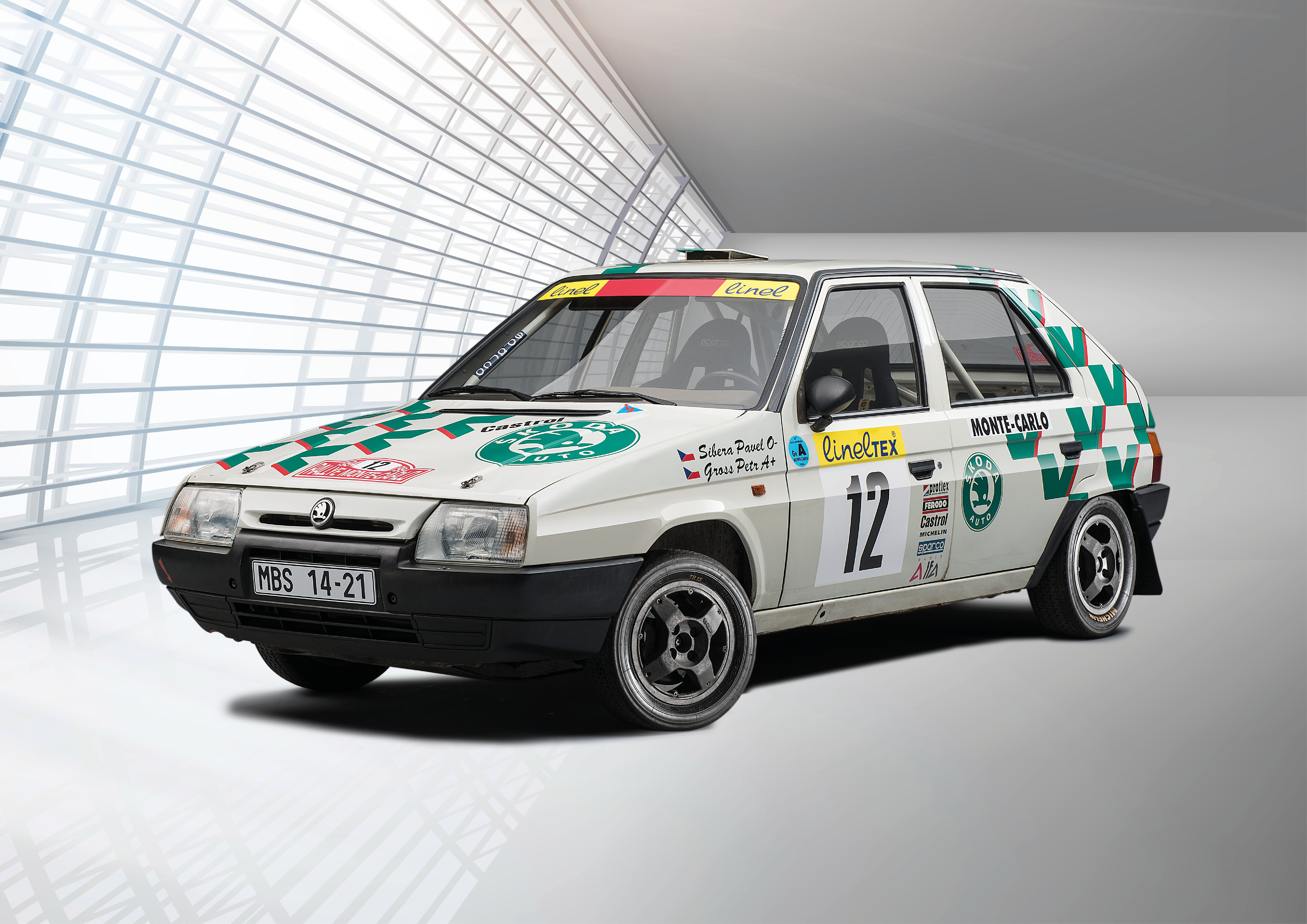 Motorsport versions of the SKODA FAVORIT (1989): All different – and yet familiar - Image 8