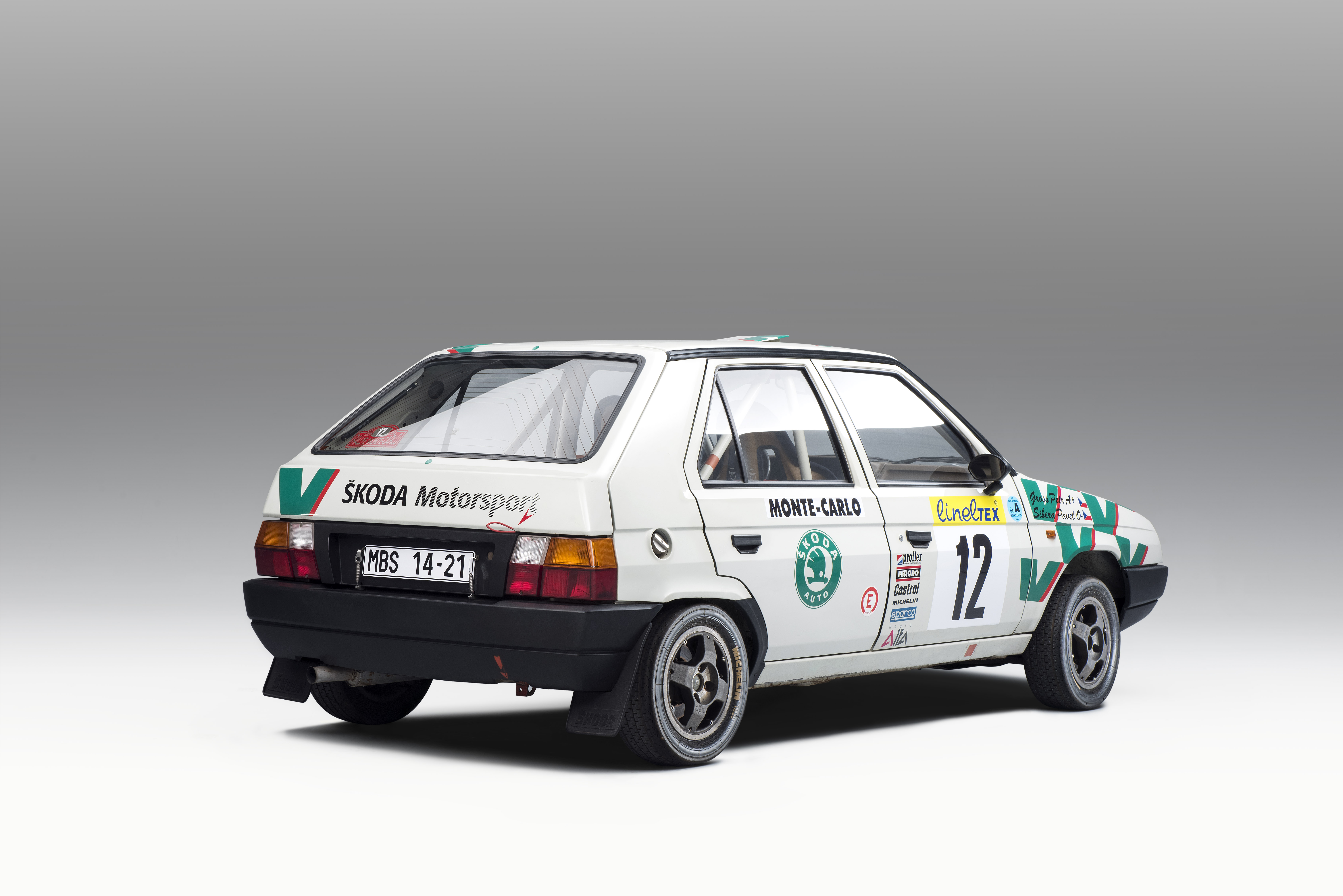 Motorsport versions of the SKODA FAVORIT (1989): All different – and yet familiar - Image 7