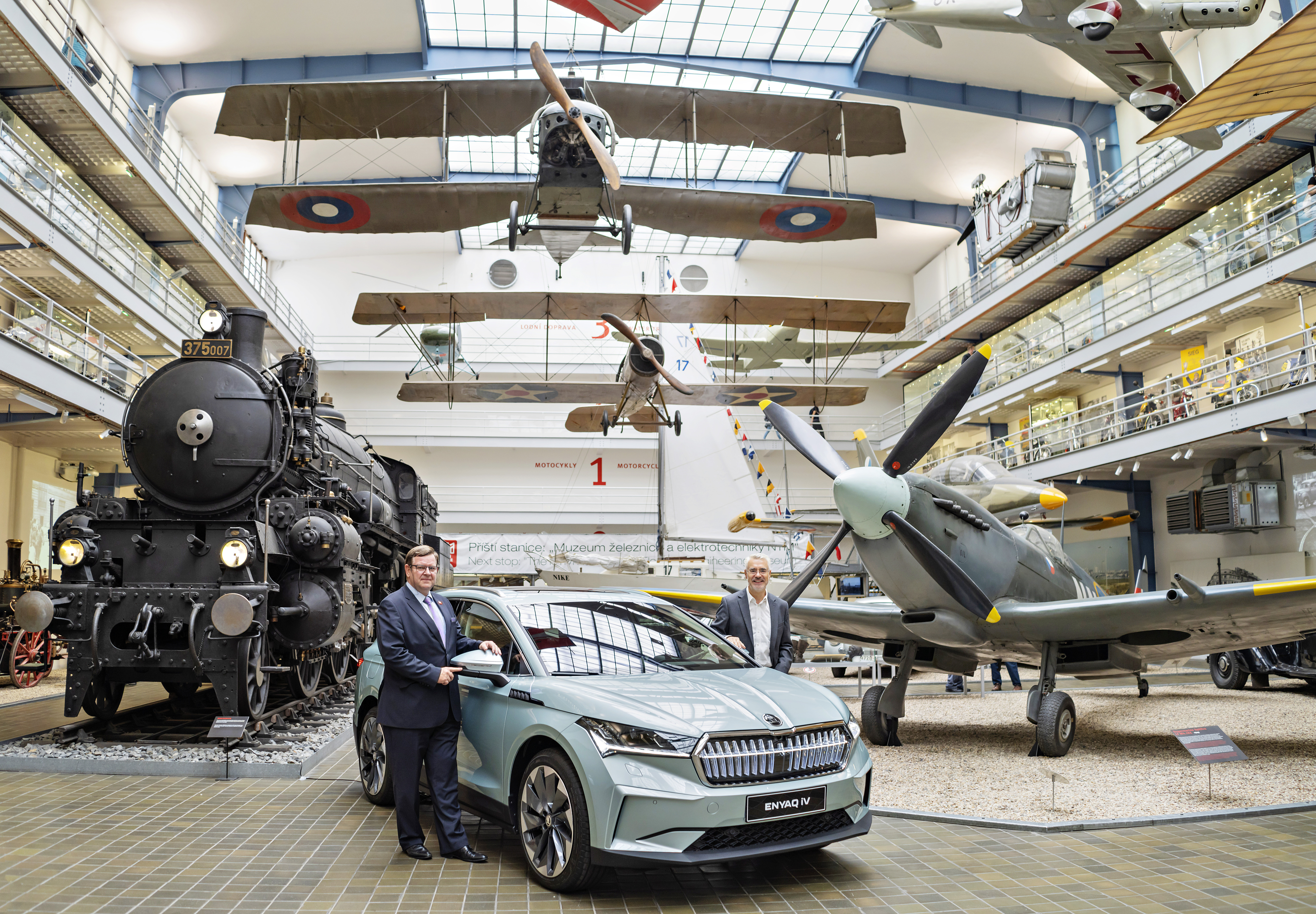 First SKODA ENYAQ iV manufactured in Czech Republic presented to National Technical Museum - Image 2