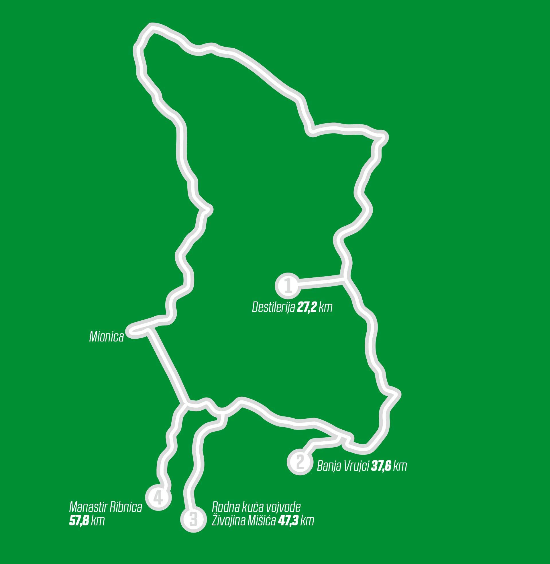 Mapa za PATROLU Mionica